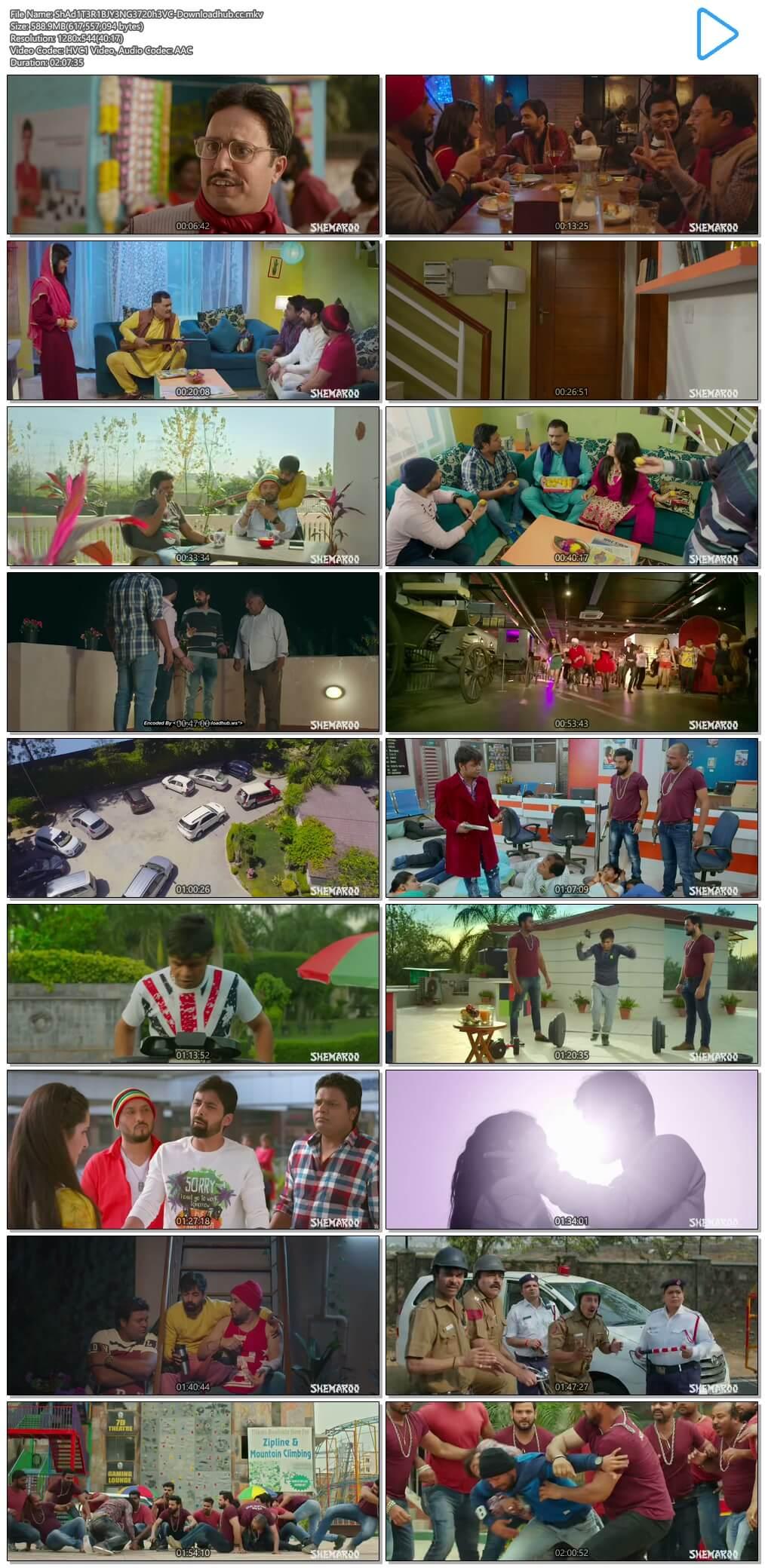 Shaadi Teri Bajayenge Hum Band 2018 Hindi 720p HEVC HDRip