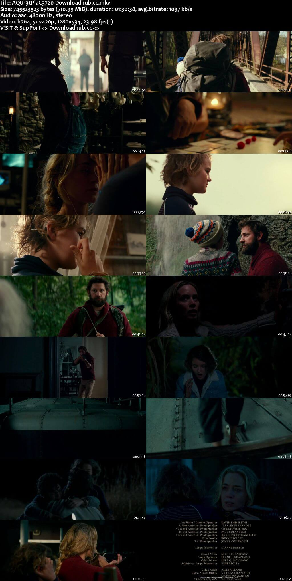 A Quiet Place 2018 English 720p Web-DL 700MB ESubs
