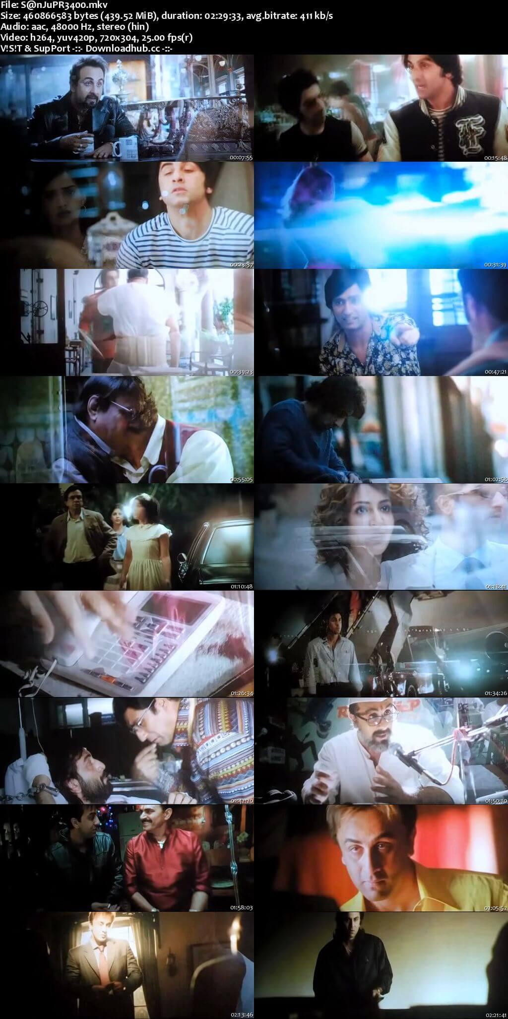 Sanju 2018 Hindi 400MB Pre-DVDRip 480p