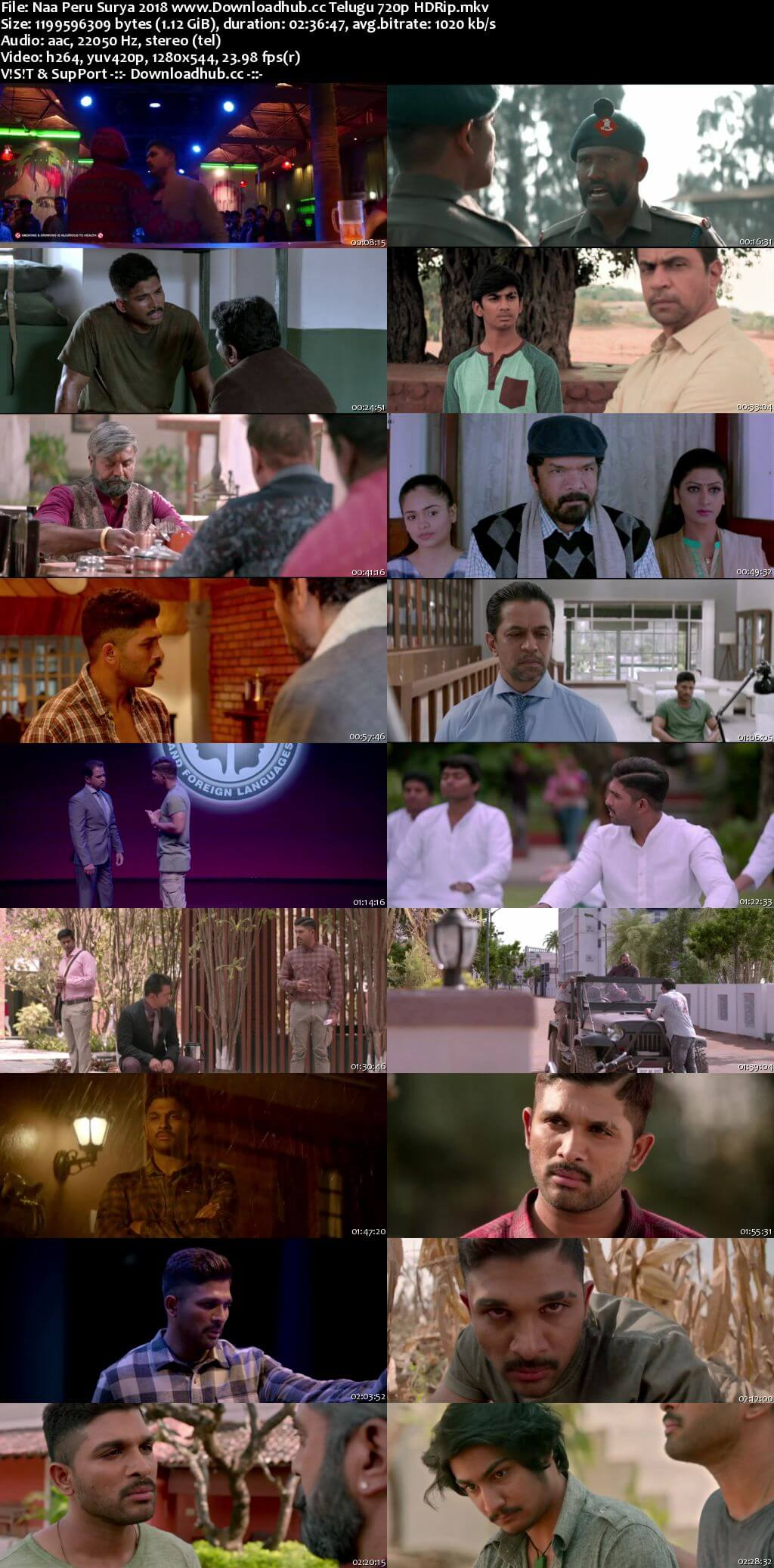 Naa Peru Surya 2018 Telugu 720p HDRip