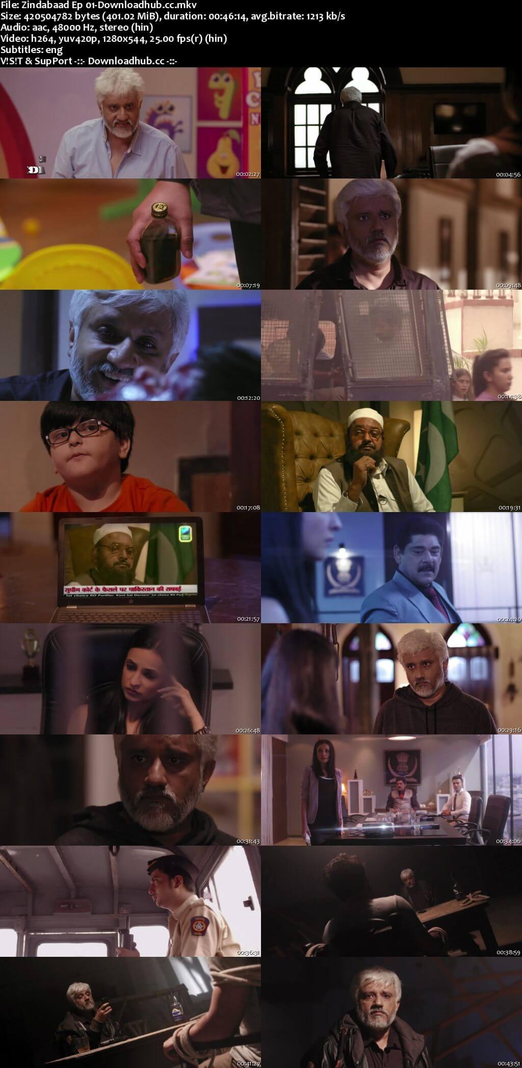 Zindabaad 2018 Hindi Season 01 Complete 720p HDRip ESubs
