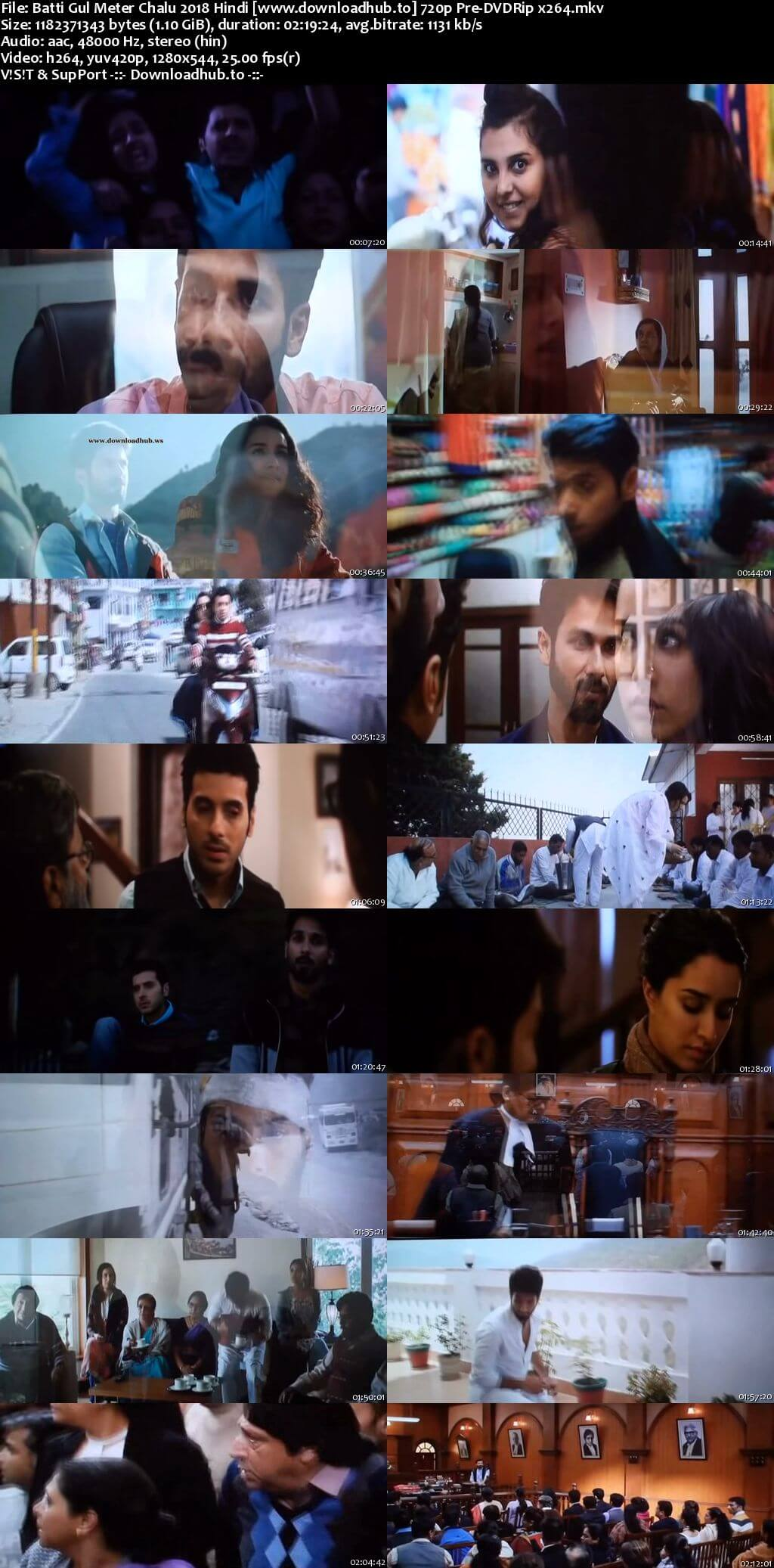 Batti Gul Meter Chalu 2018 Hindi 720p Pre-DVDRip x264