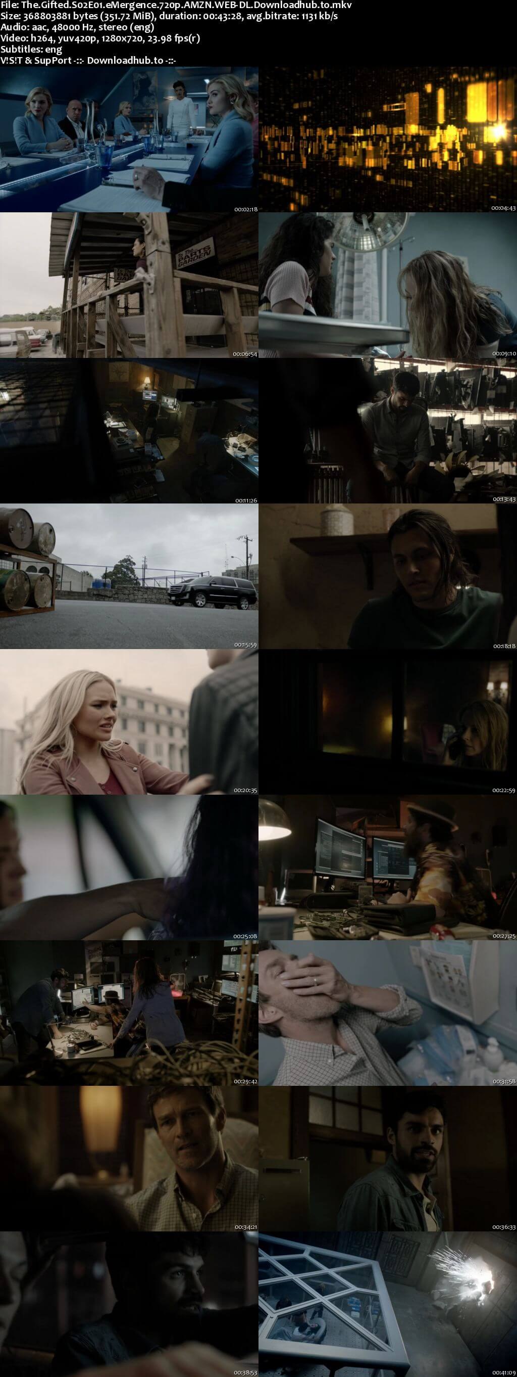 The Gifted S02E01 350MB AMZN WEB-DL 720p ESubs