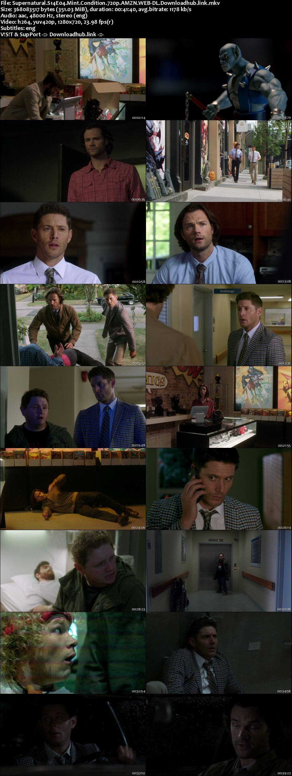 Supernatural S14E04 350MB AMZN Web-DL 720p ESubs