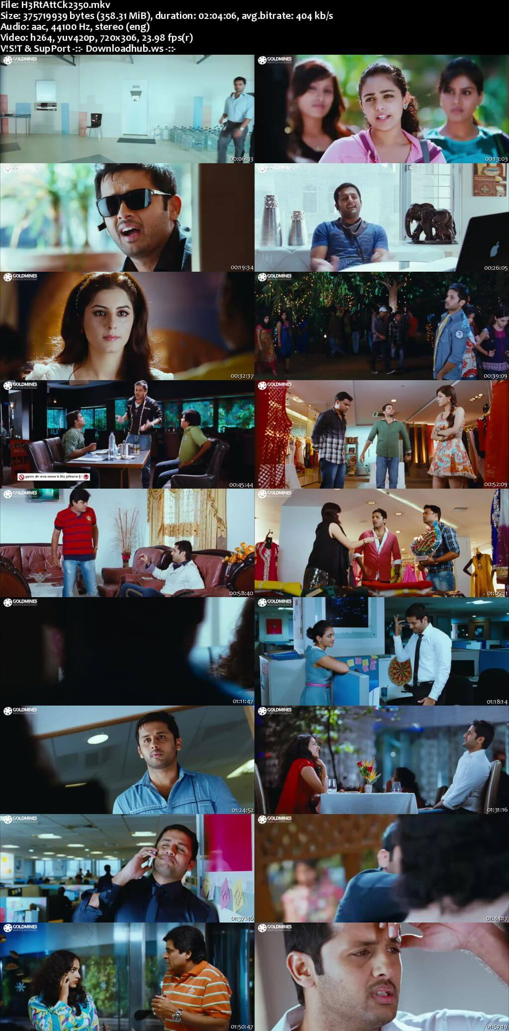 Heart Attack 2 2018 Hindi Dubbed 480p HDRip