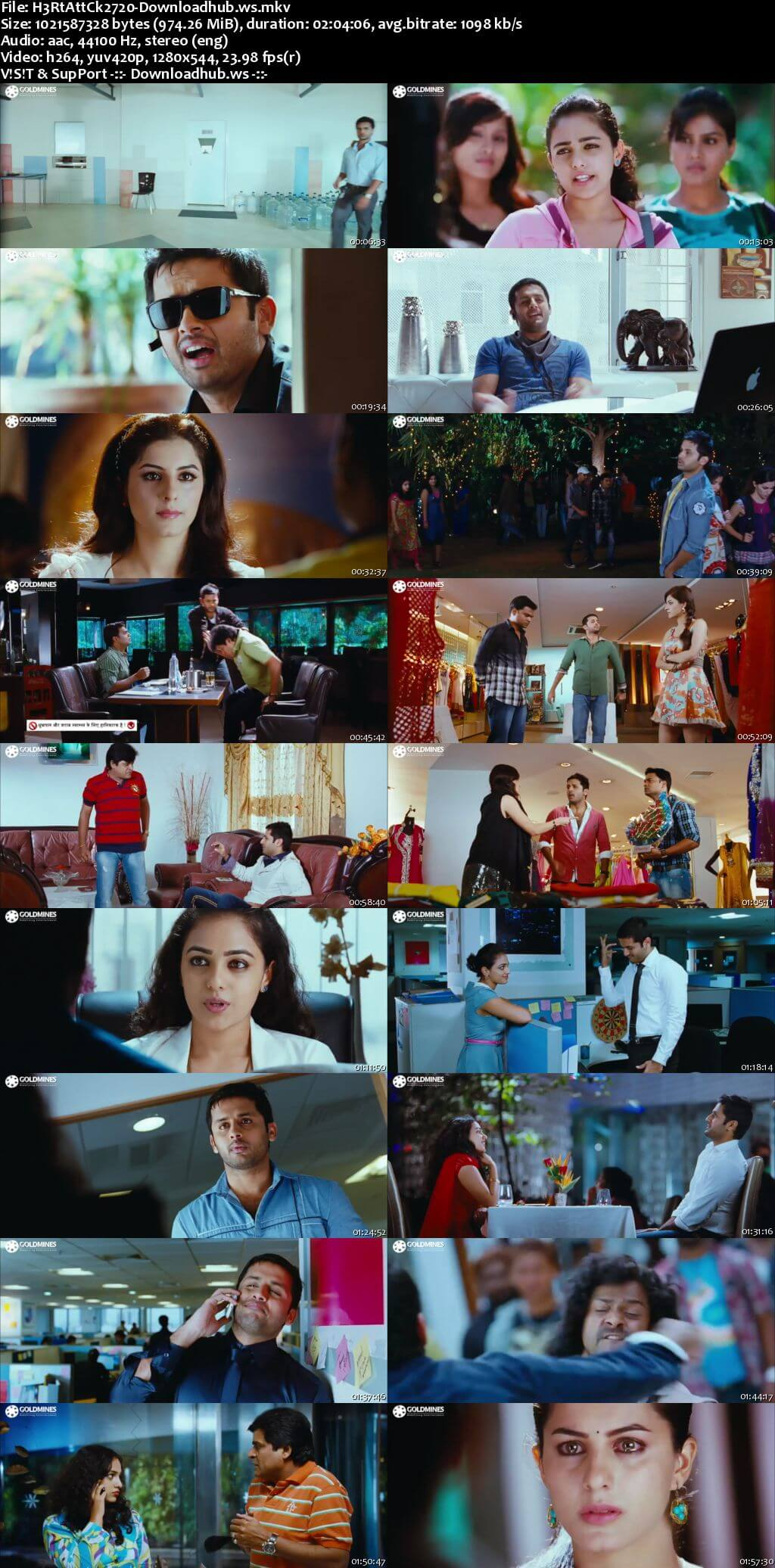 Heart Attack 2 2018 Hindi Dubbed 720p HDRip