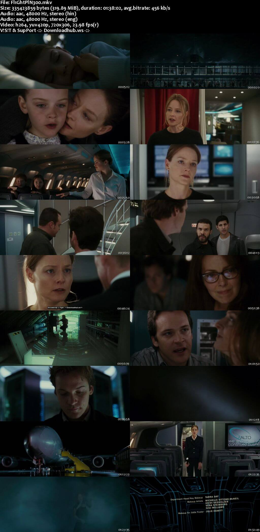 Flightplan 2005 Hindi Dual Audio 480p BluRay Free Download