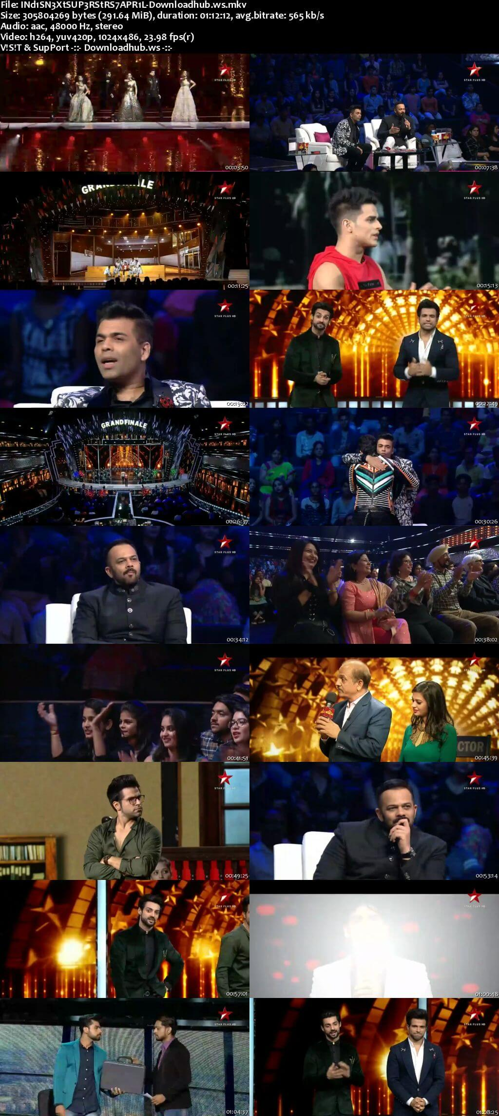 India's Next Superstars 07 April 2018 Grand Finals Episode HDTV 480p