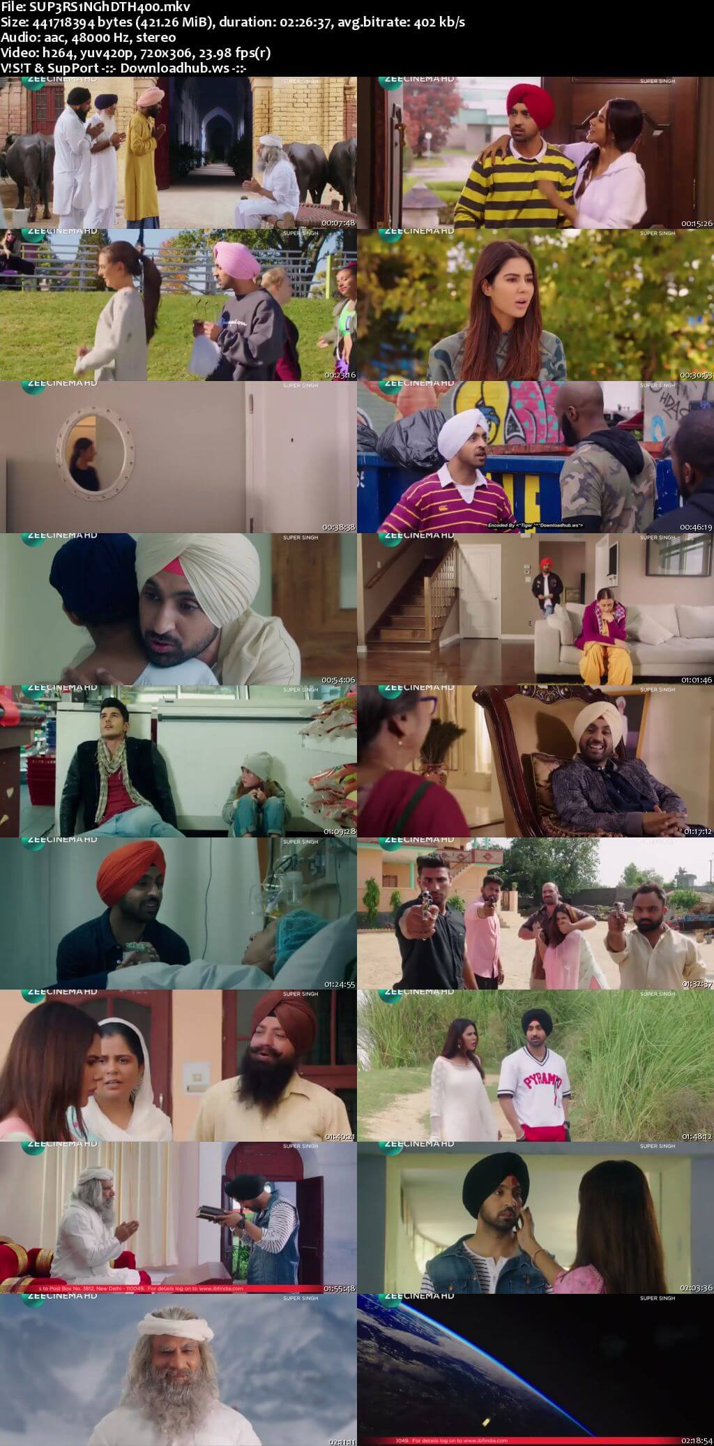 Super Singh 2017 Hindi 480p DTHRip
