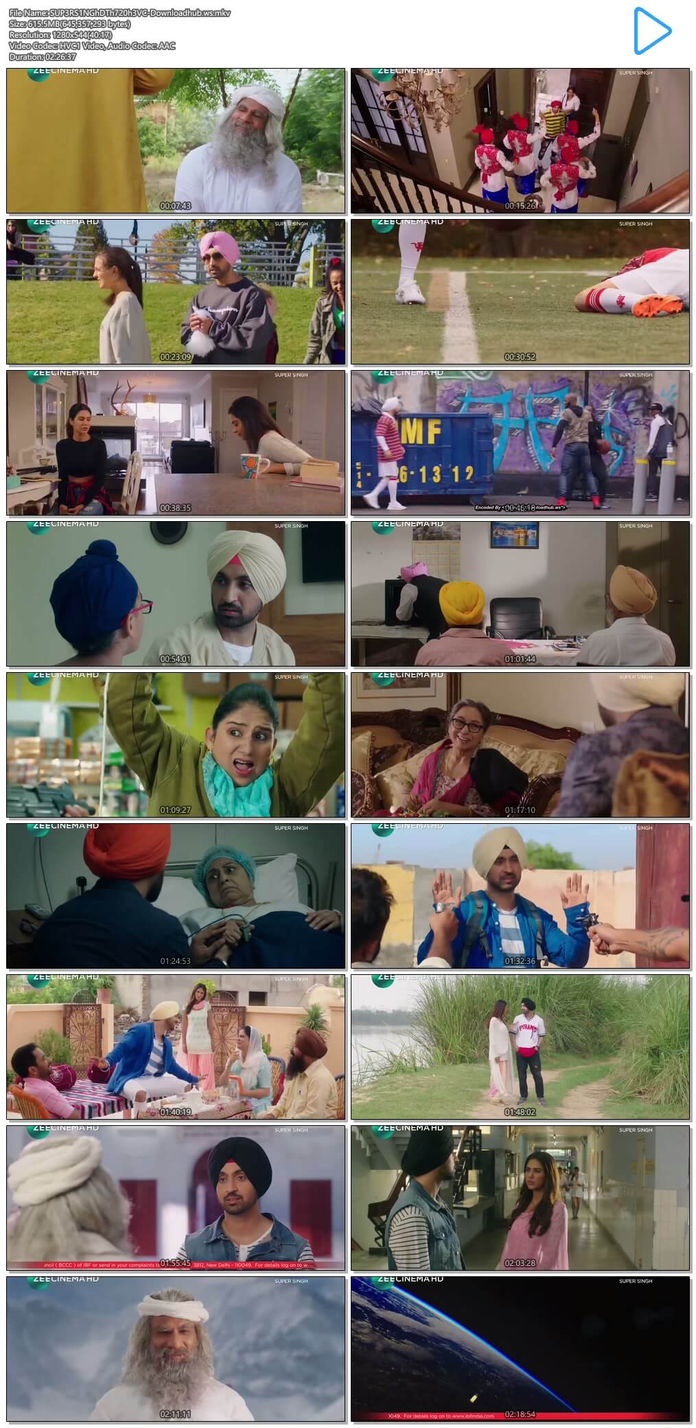 Super Singh 2017 Hindi 720p HEVC DTHRip