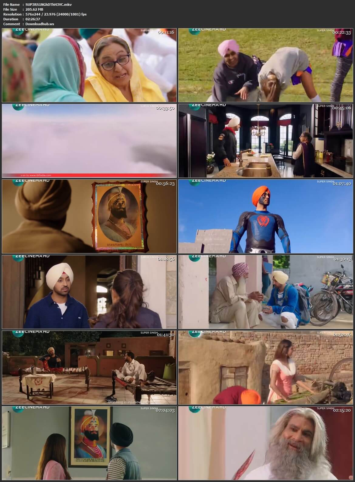 Super Singh 2017 Hindi HEVC Mobile DTHRip
