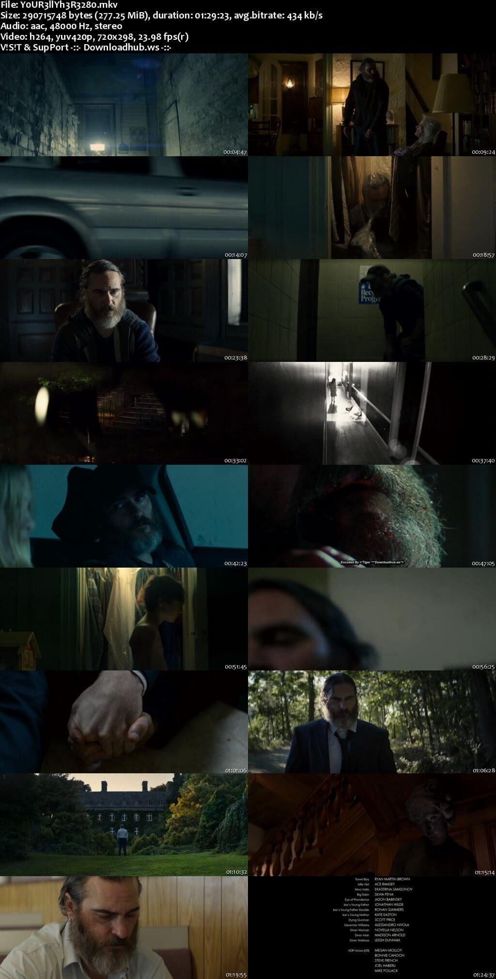 You Were Never Really Here 2017 English 480p Web-DL