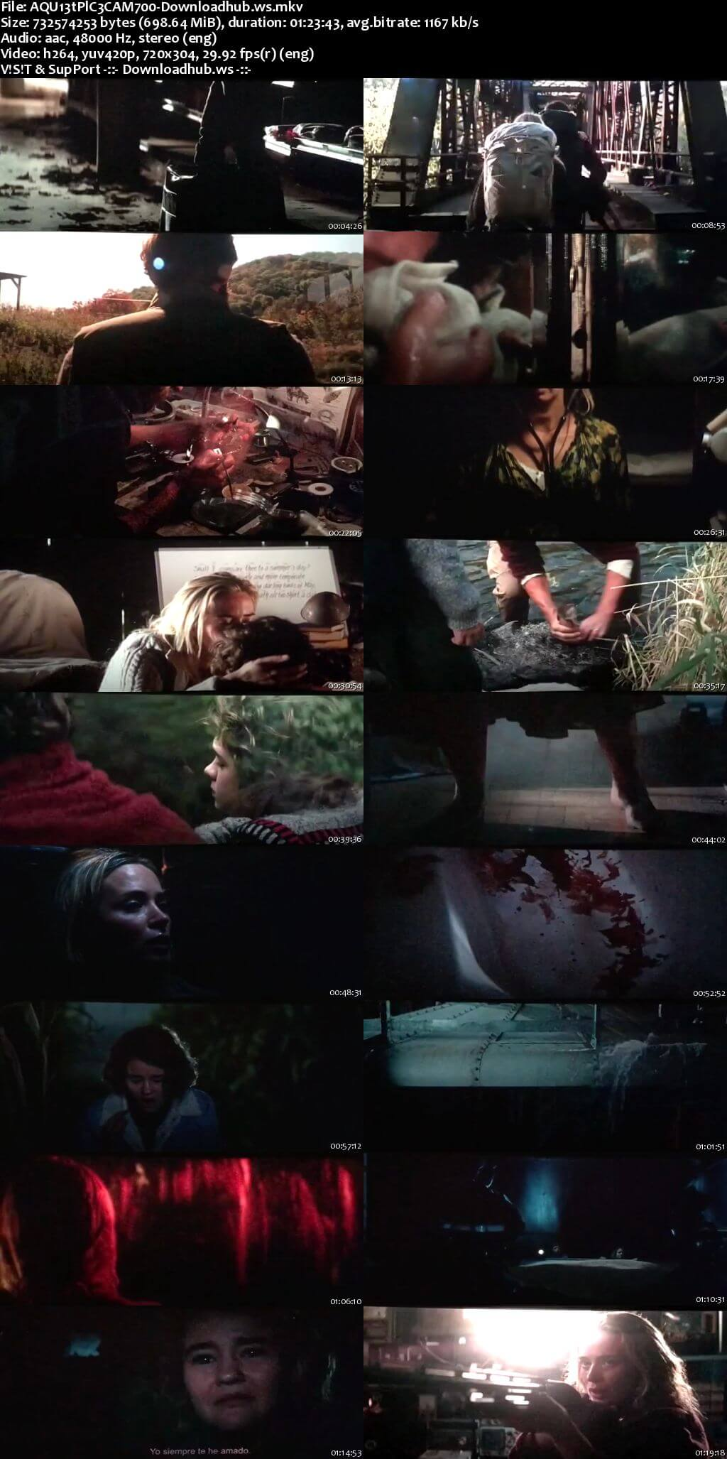 A Quiet Place 2018 English 700MB HDCAM x264