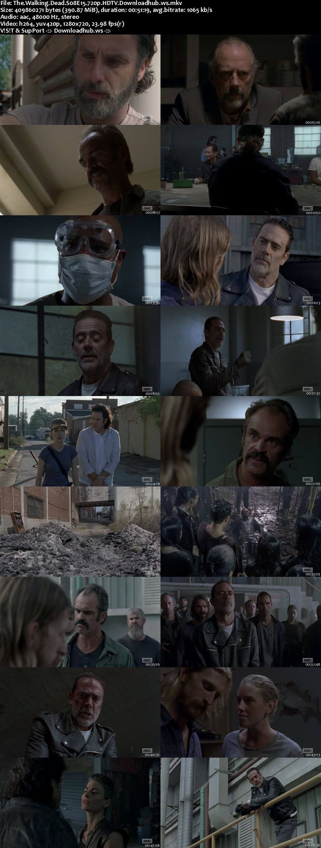The Walking Dead S08E15 390MB HDTV 720p x264