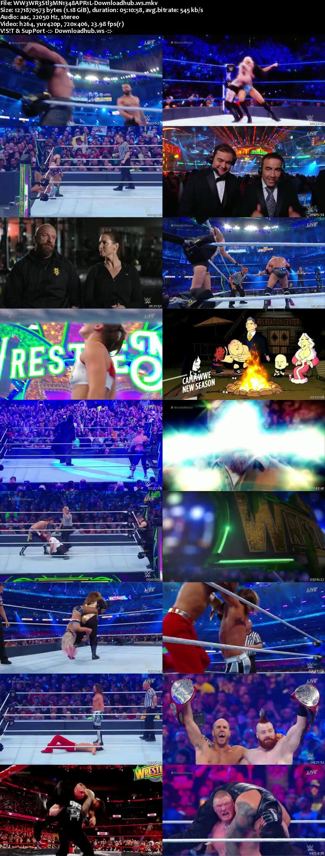 WWE WrestleMania 34 8th April 2018 480p PPV Web-DL