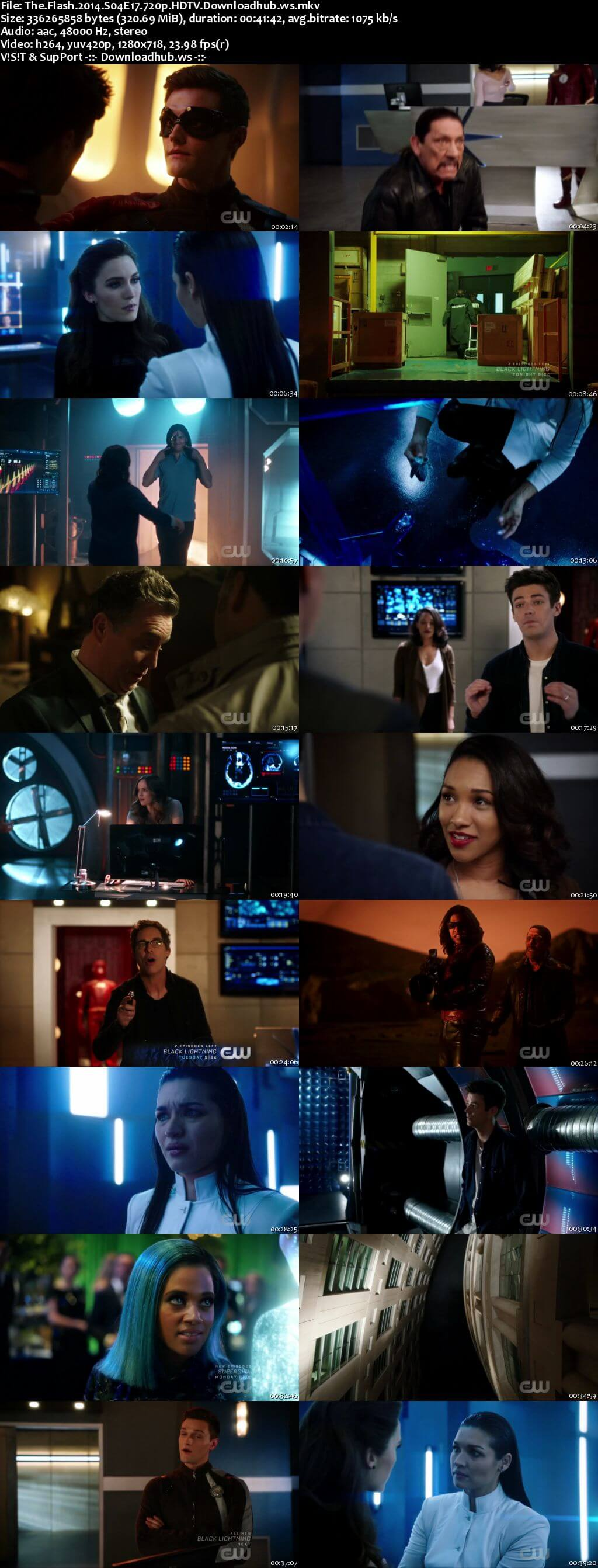 The Flash S04E17 300MB HDTV 720p x264