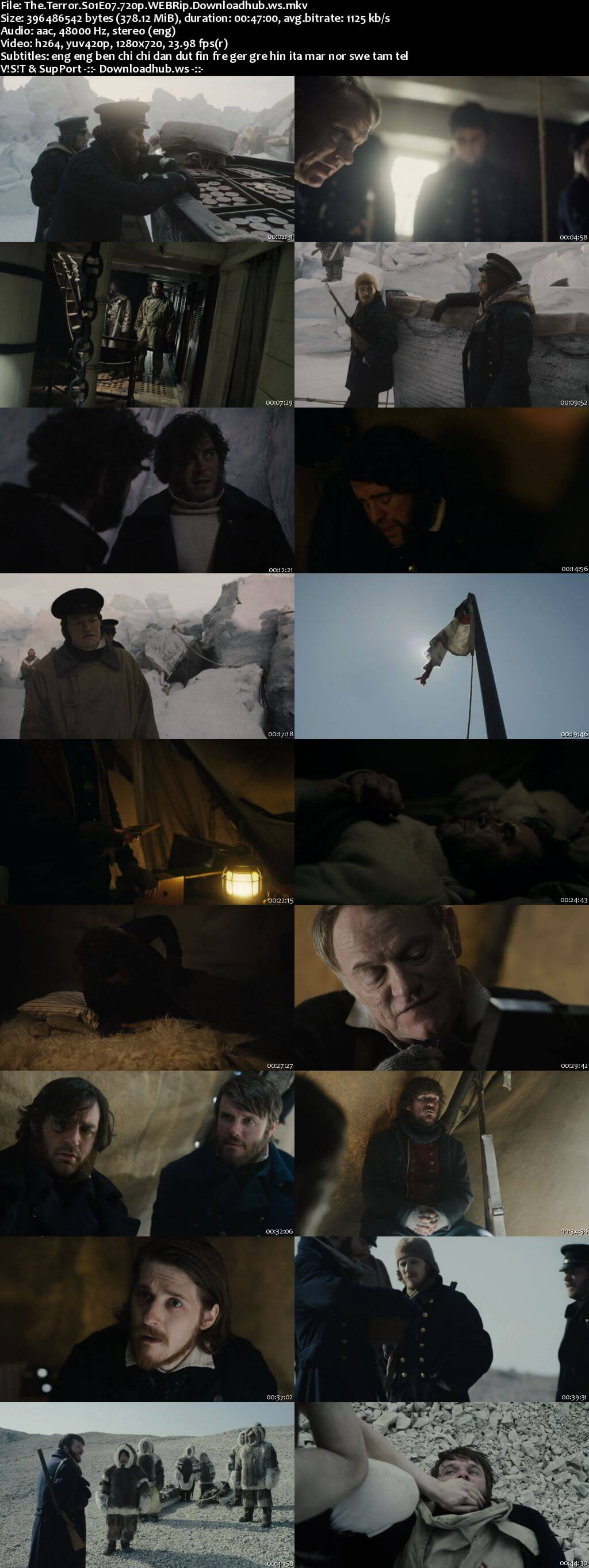 The Terror S01E07 350MB WEBRip 720p x264 MSubs