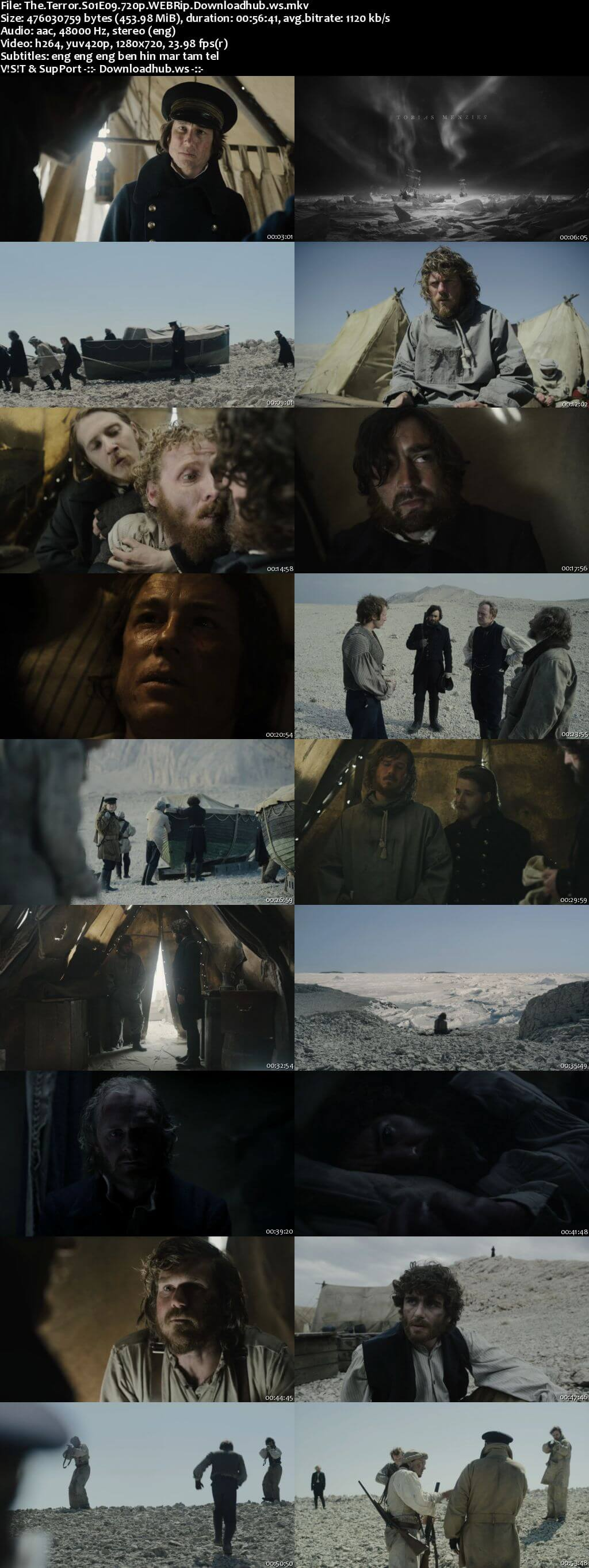 The Terror S01E09 450MB WEBRip 720p x264 MSubs