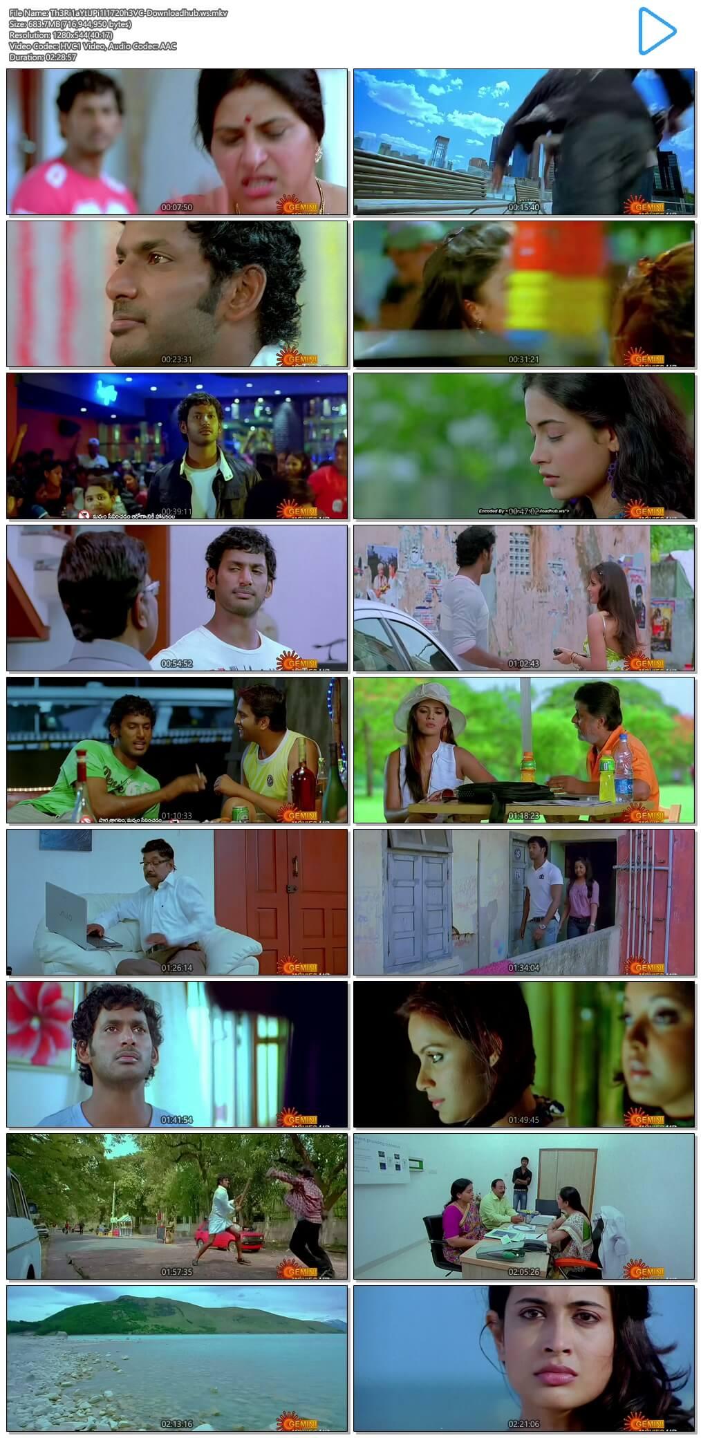 Theeradha Vilaiyattu Pillai 2010 UNCUT Hindi Dual Audio 720p HEVC HDRip Download