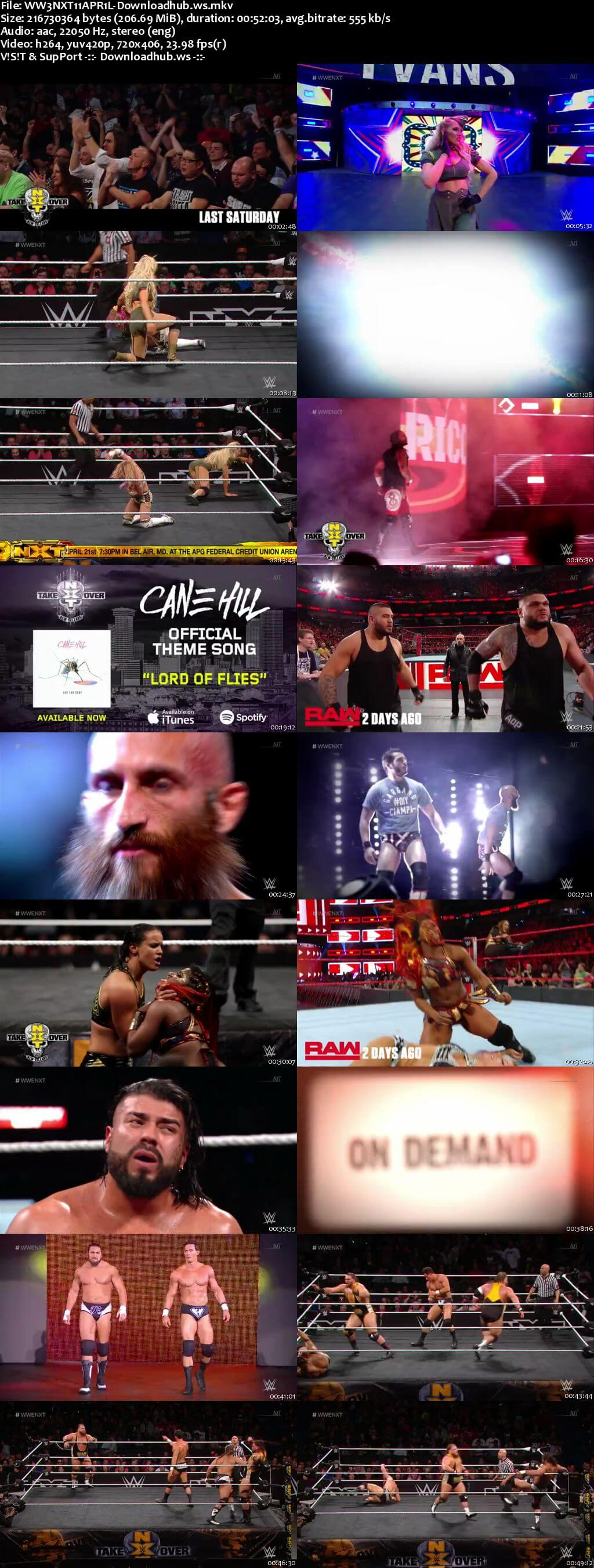 WWE NXT 11 April 2018 480p HDTV Download
