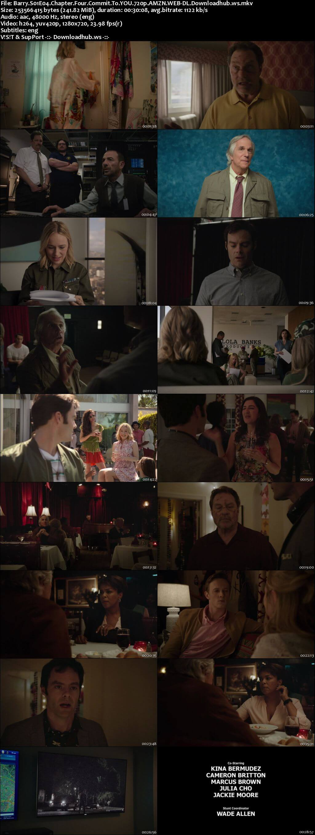 Barry S01E04 240MB WEB-DL 720p ESubs