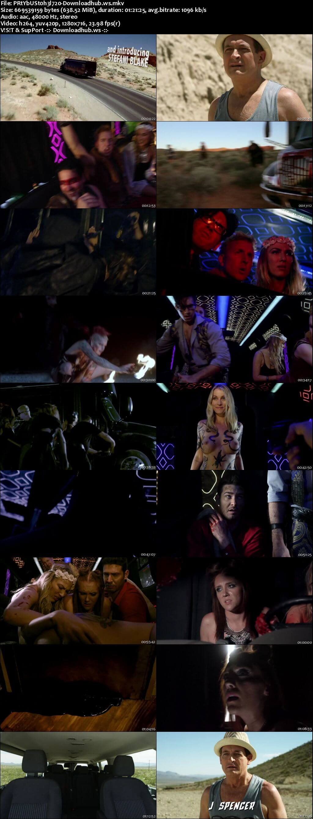 Party Bus to Hell 2017 English 720p HD Download
