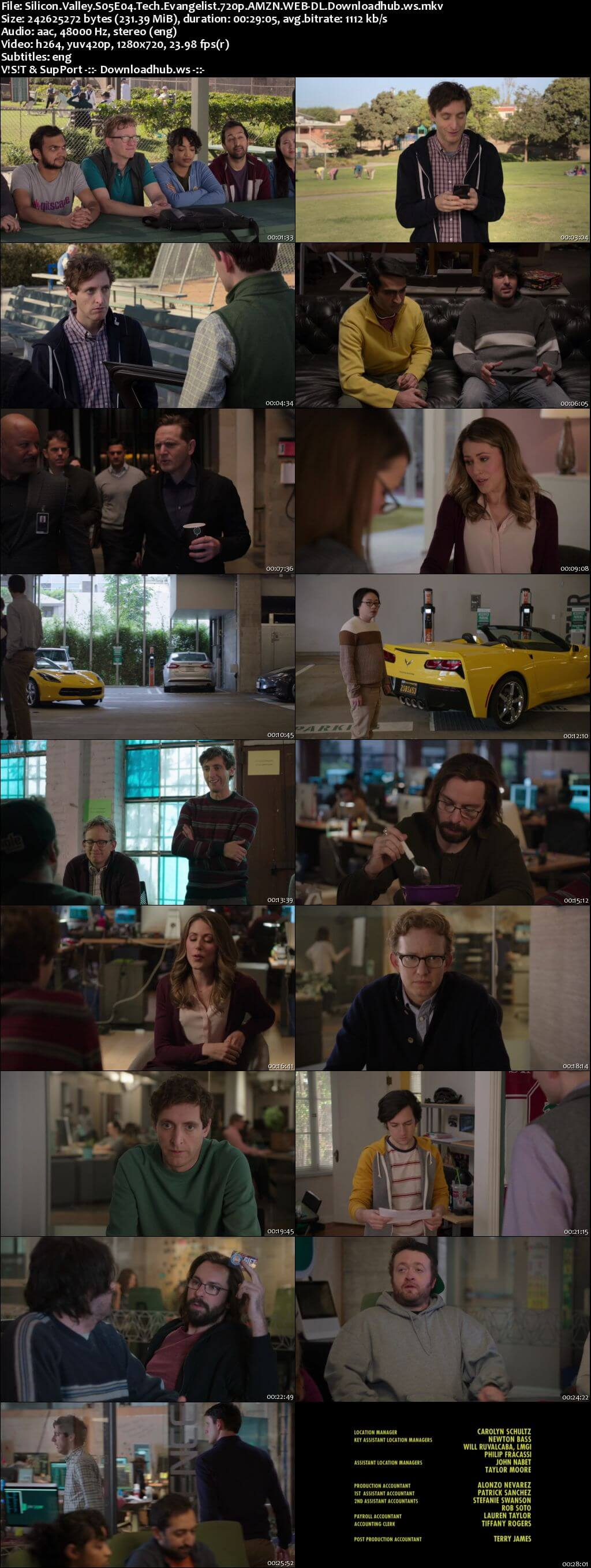 Silicon Valley S05E04 230MB WEBRip 720p x264