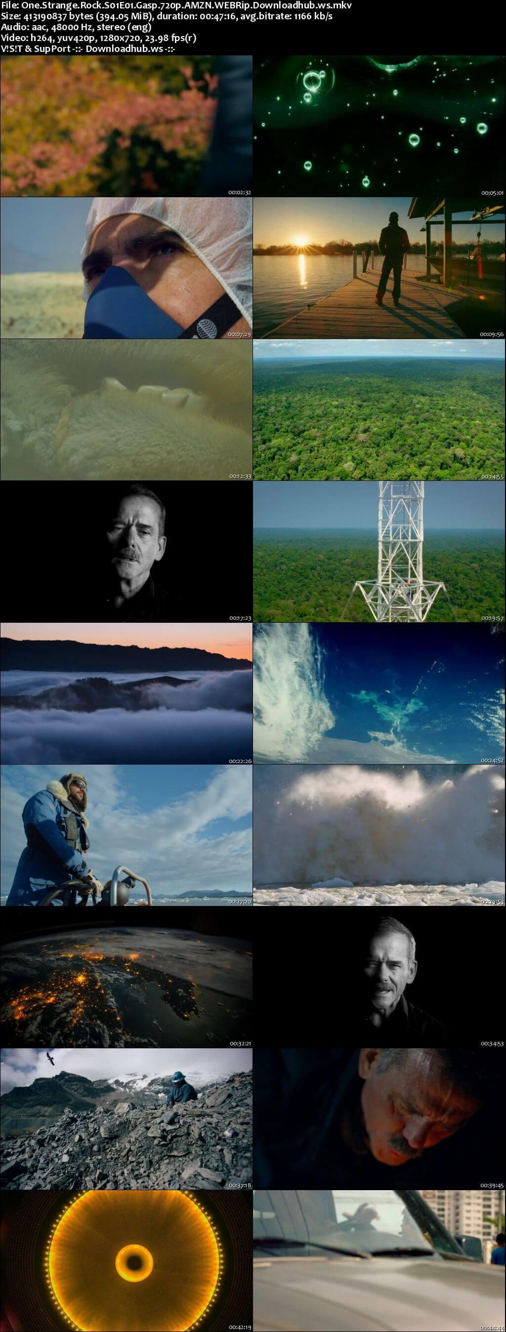 One Strange Rock S01E01 400MB WEBRip 720p x264