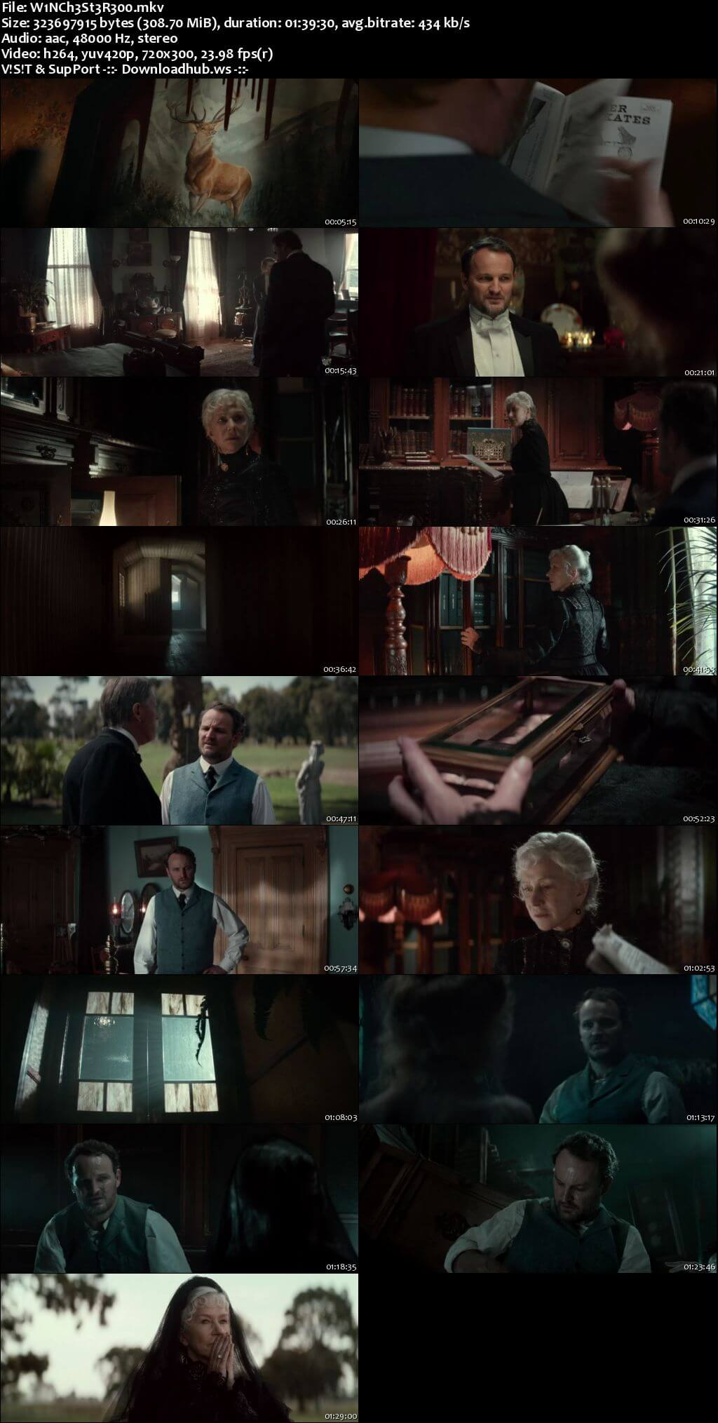 Winchester 2018 English 480p Web-DL ESubs