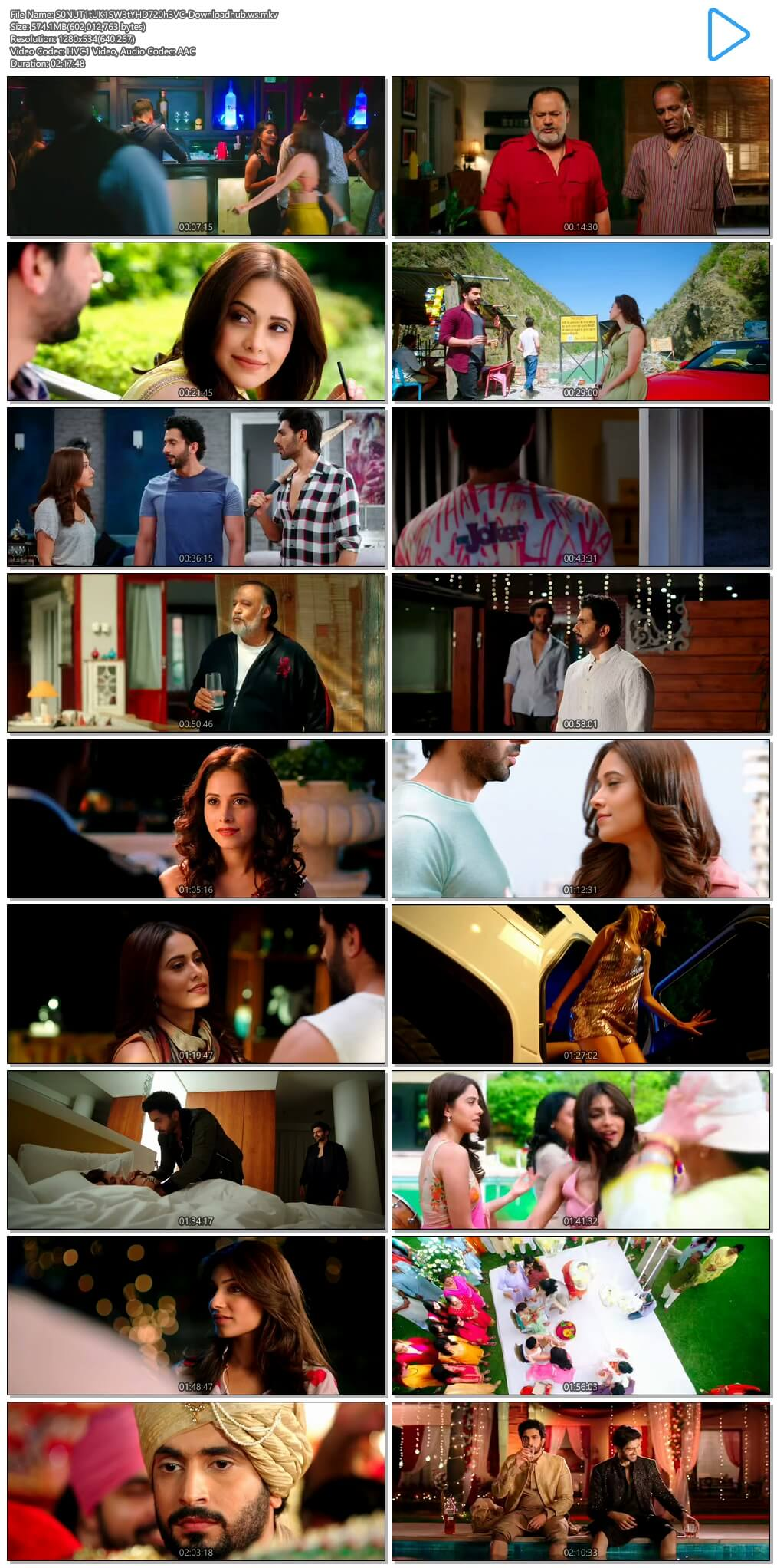 Sonu Ke Titu Ki Sweety 2018 Hindi 720p HEVC HDRip ESubs