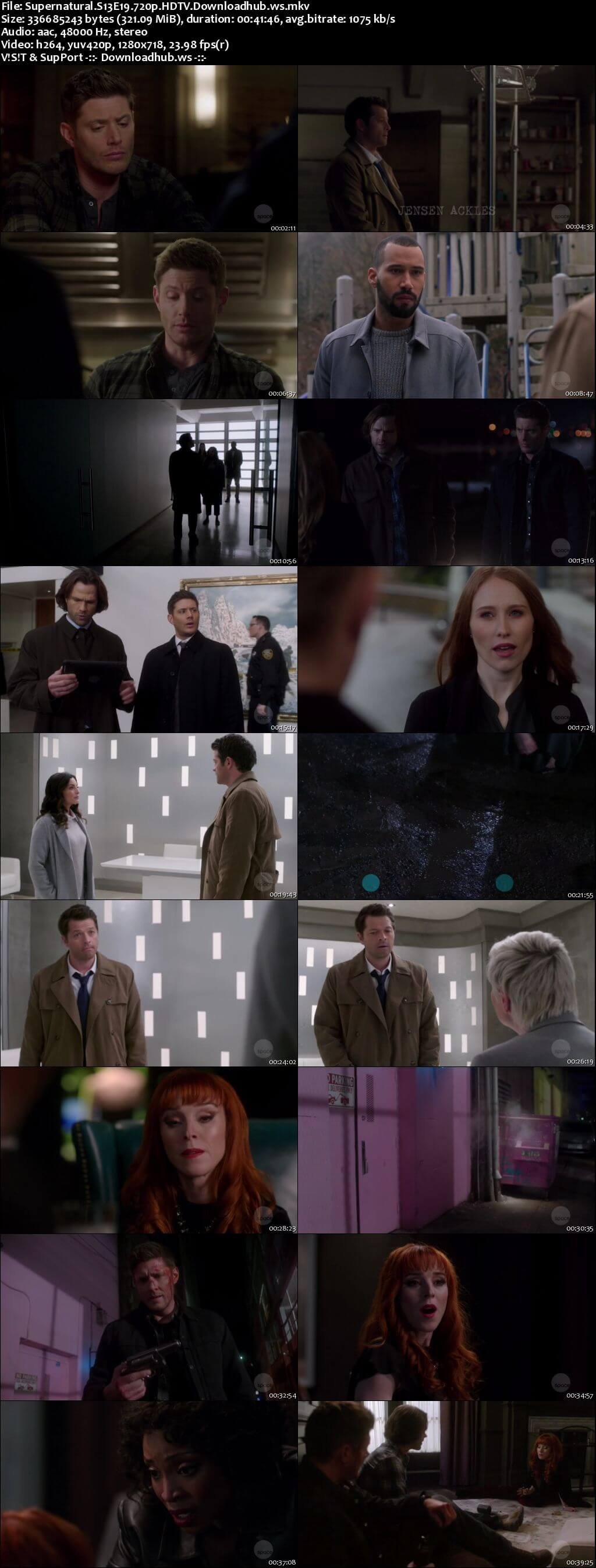 Supernatural S13E19 300MB HDTV 720p x264