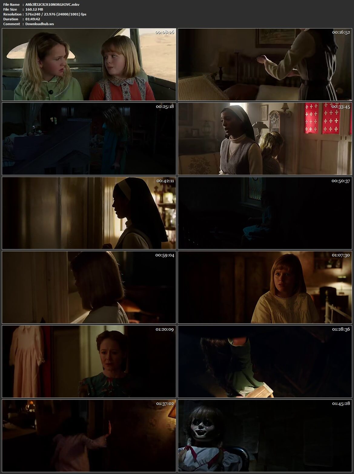 Annabelle Creation 2017 Hindi Dual Audio HEVC Mobile BluRay Free Download