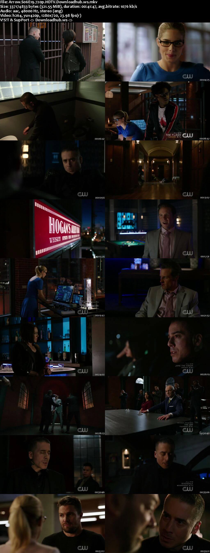 Arrow S06E19 320MB HDTV 720p x264