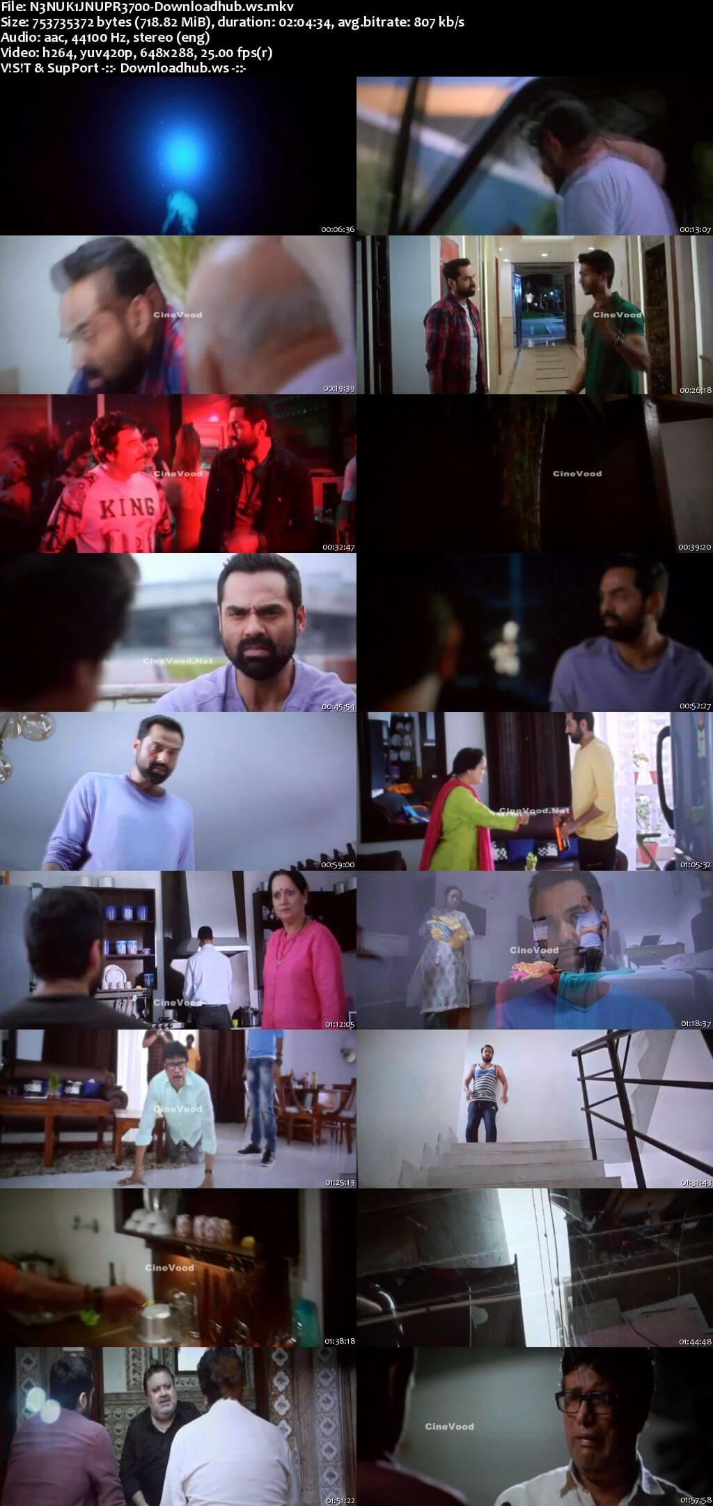 Nanu Ki Jaanu 2018 Hindi 700MB Pre-DVDRip x264
