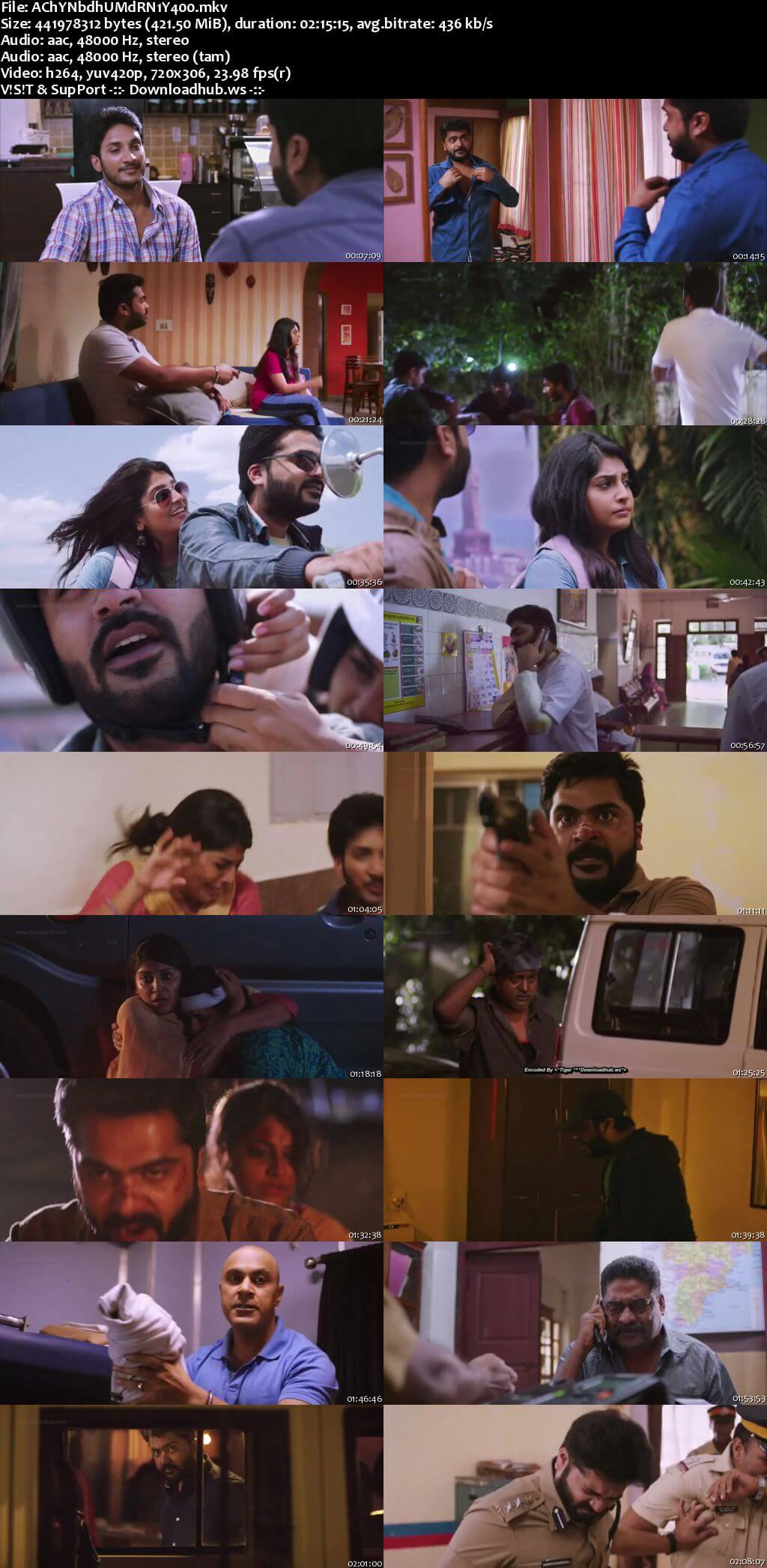 Achcham Yenbadhu Madamaiyada 2016 UNCUT Hindi Dual Audio 480p HDRip Free Download