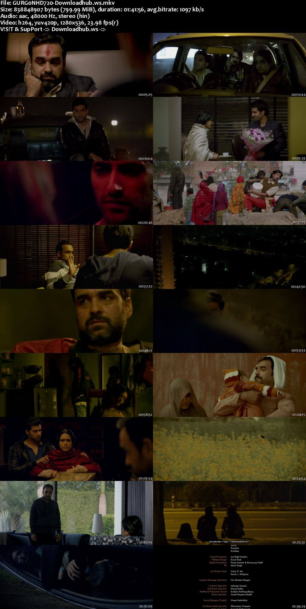 Gurgaon 2017 Hindi 720p HDRip
