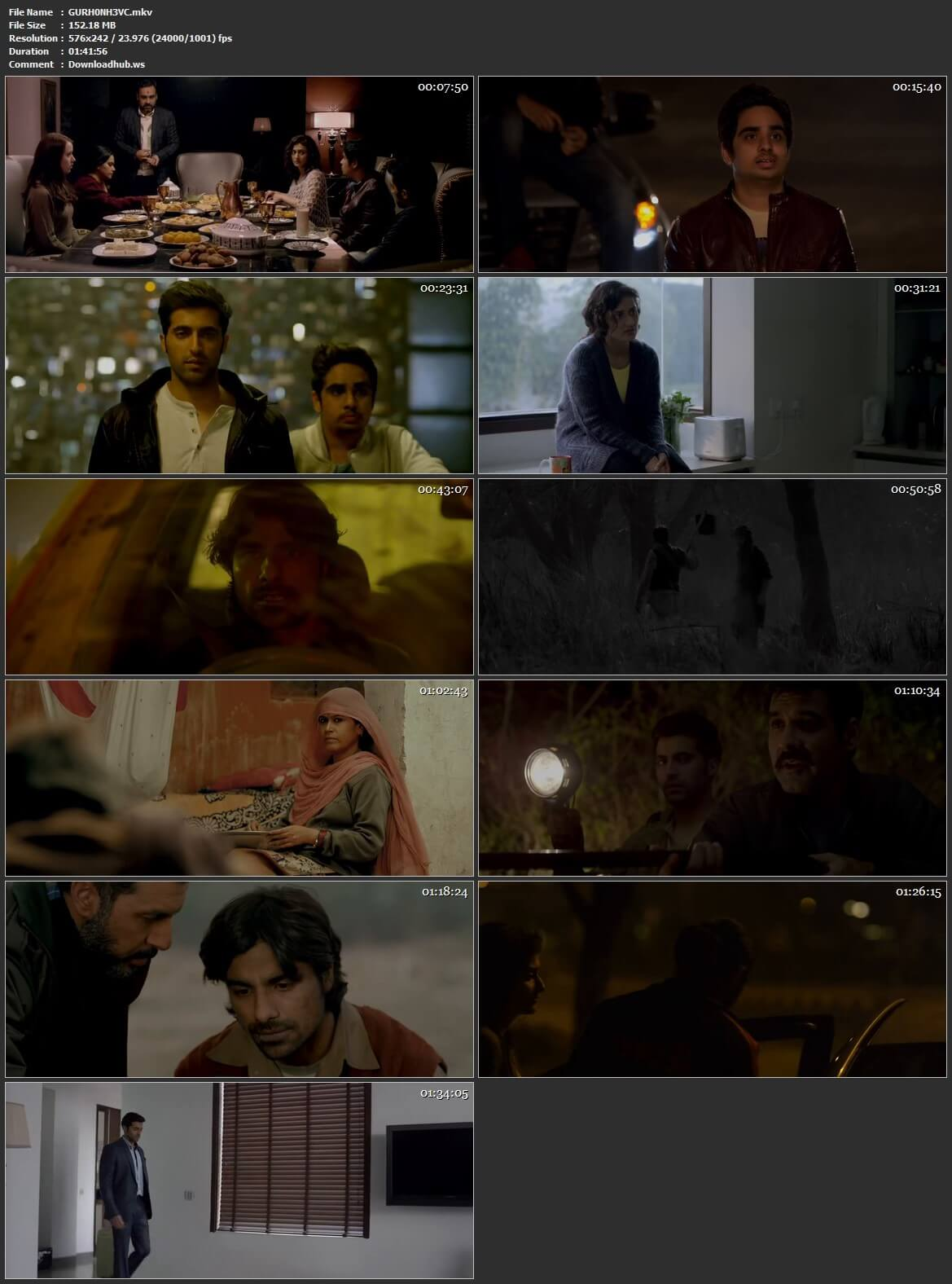 Gurgaon 2017 Hindi HEVC 480p HDRip