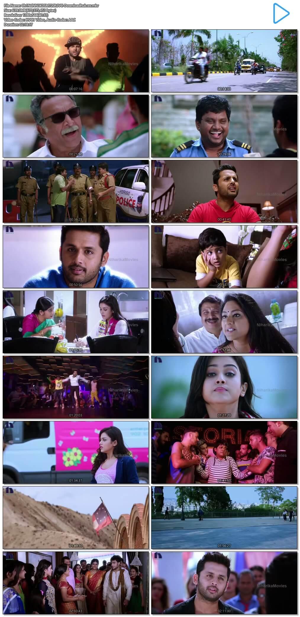 Chinnadana Nee Kosam 2014 UNCUT Hindi Dual Audio 720p HEVC HDRip Free Download