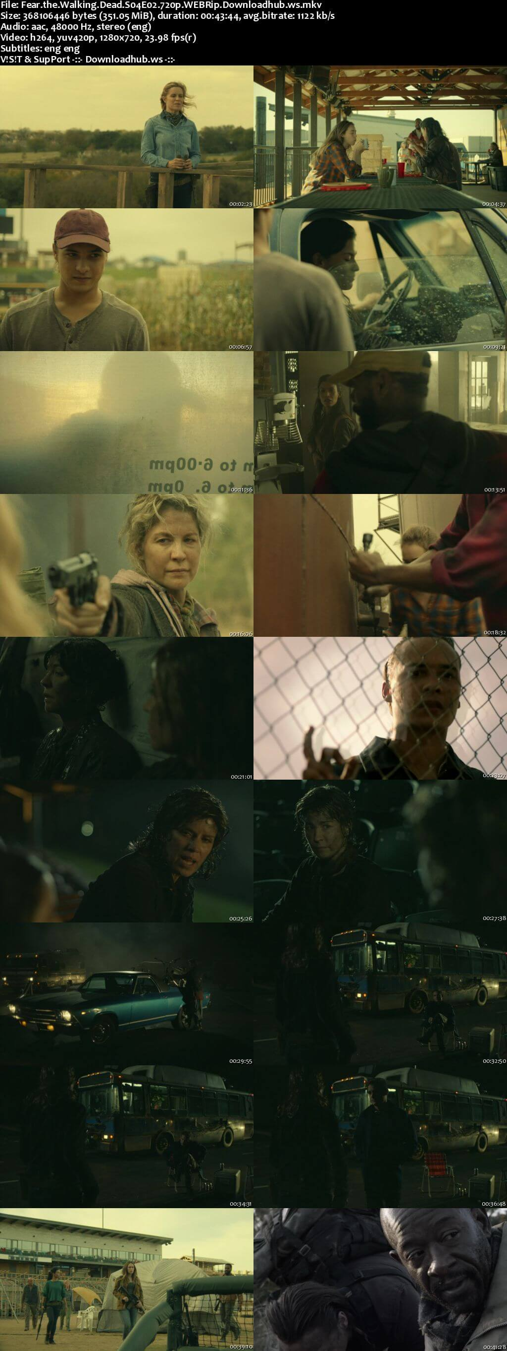 Fear the Walking Dead S04E02 350MB WEBRip 720p x264 ESubs