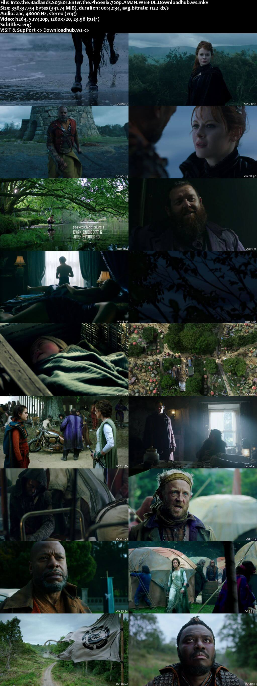 Into the Badlands S03E01 340MB WEB-DL 720p x264 ESubs