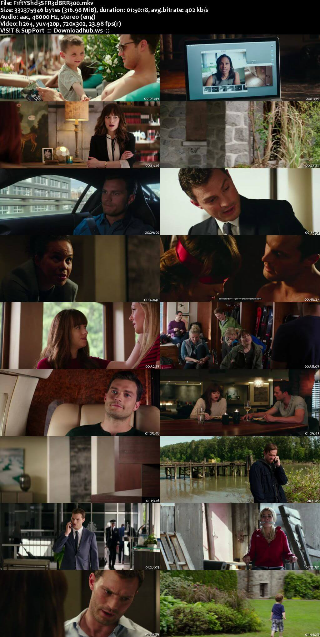 Fifty Shades Freed 2018 English 480p UNRATED BRRip ESubs