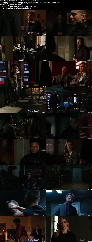 Arrow S06E20 320MB HDTV 720p x264
