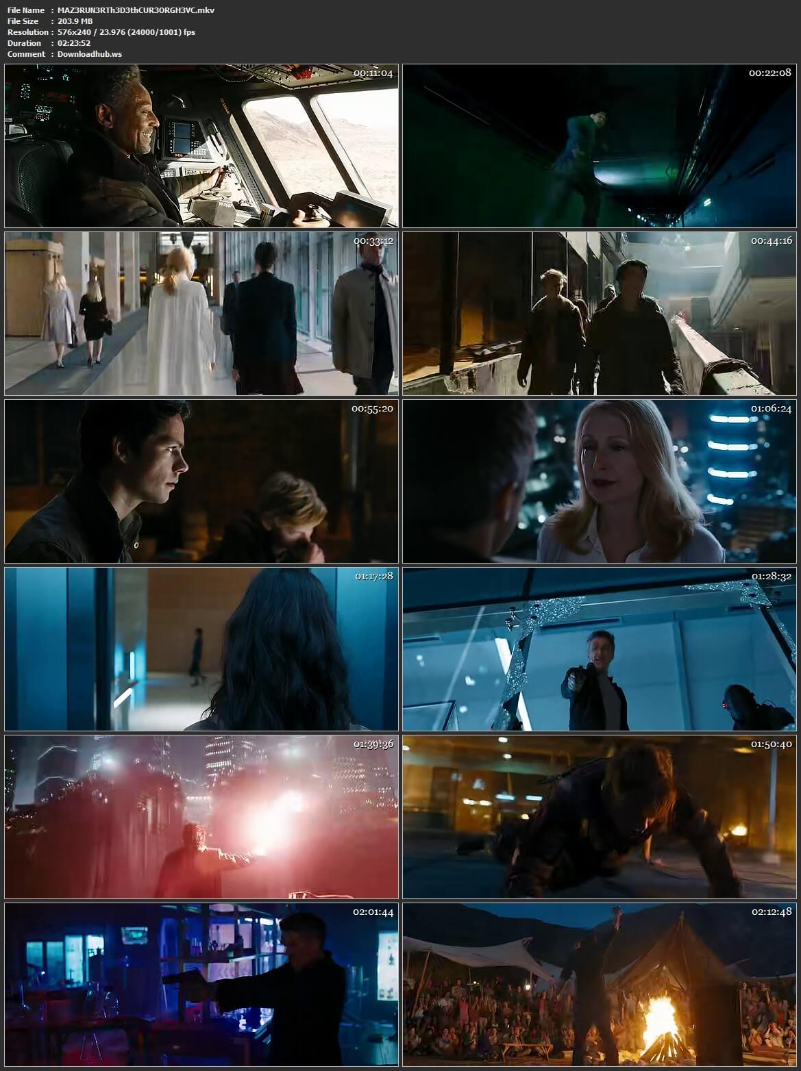 Maze Runner The Death Cure 2018 Hindi Dual Audio HEVC 480p BluRay Free Download