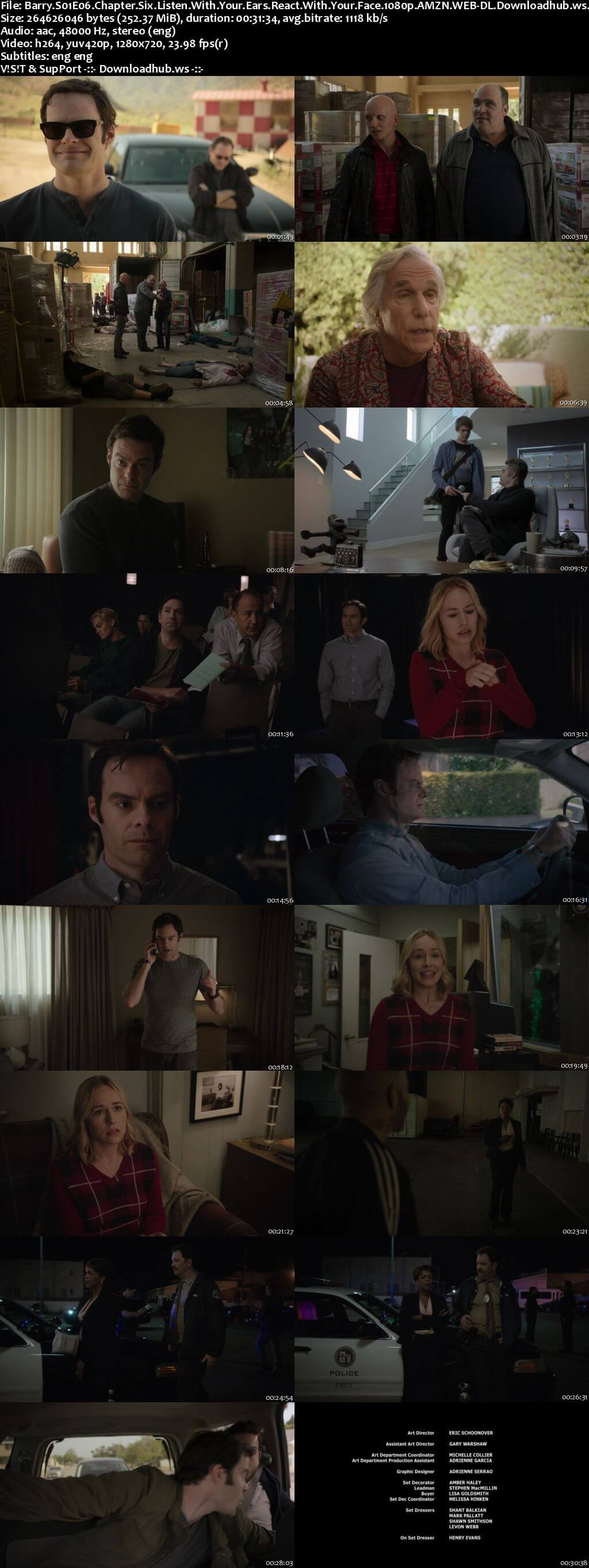 Barry S01E06 250MB WEB-DL 720p ESubs