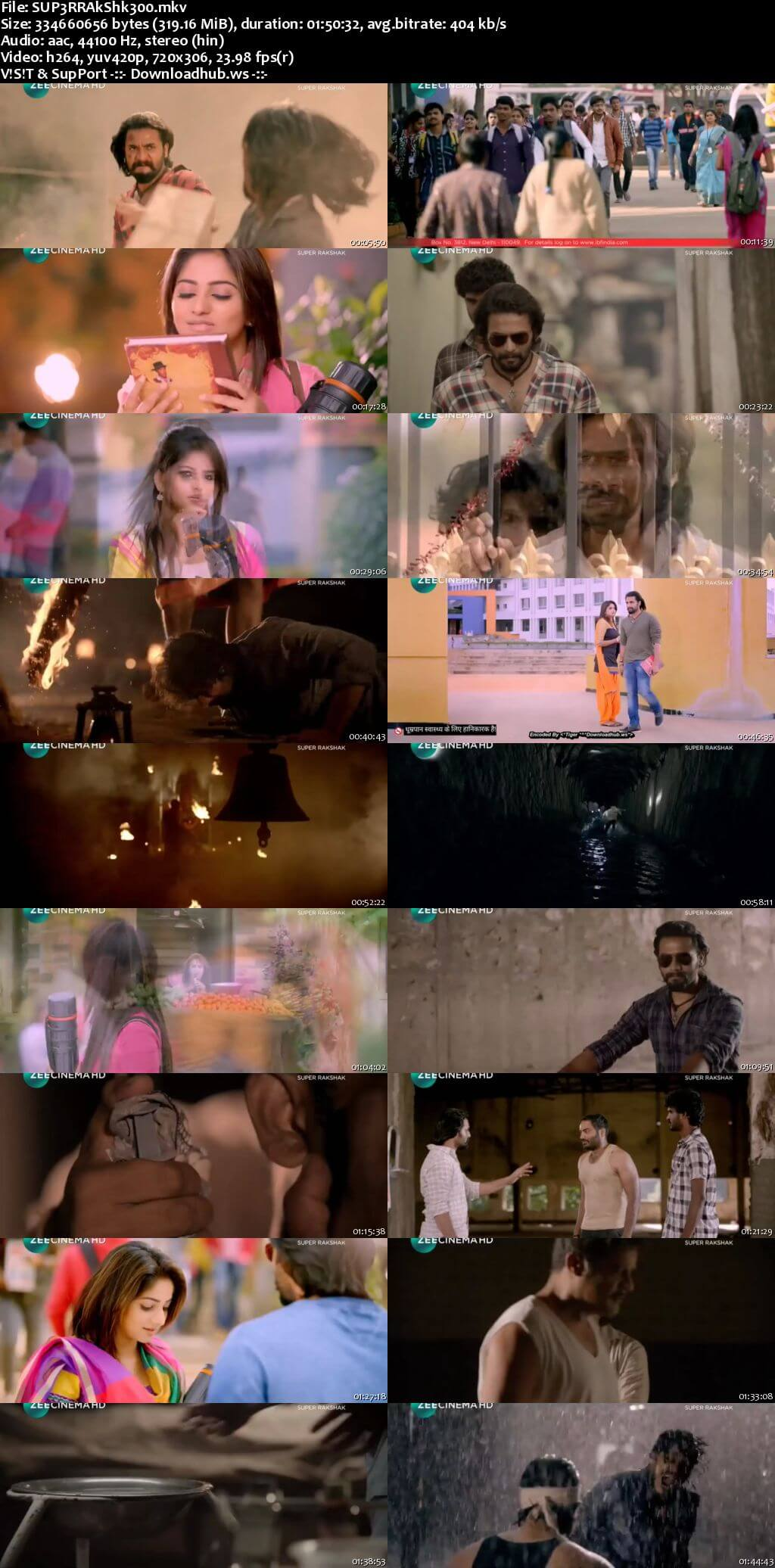 Super Rakshak 2018 Hindi Dubbed 480p HDTV