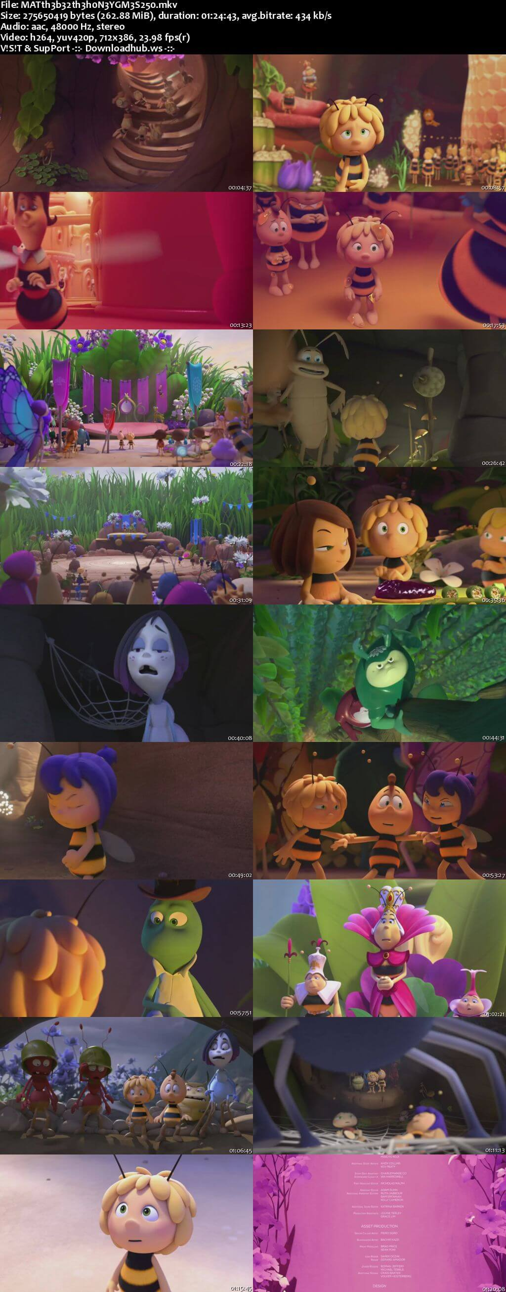 Maya the Bee 2 The Honey Games 2018 English  Web-DL