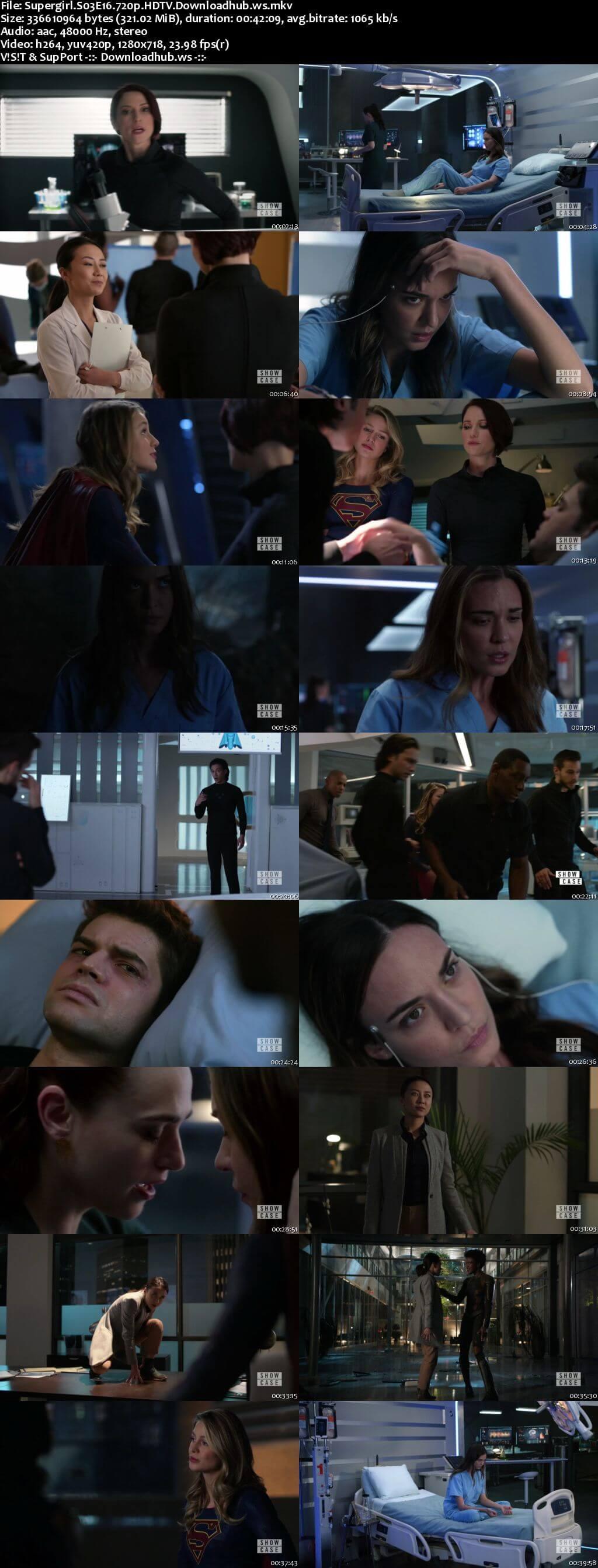 Supergirl S03E16 321MB HDTV 720p x264