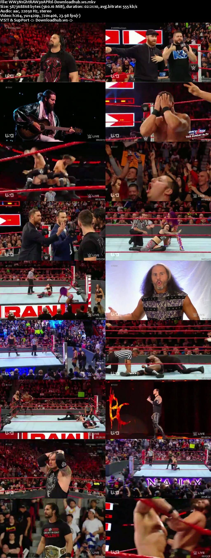 WWE Monday Night Raw 30 April 2018 480p HDTV Download