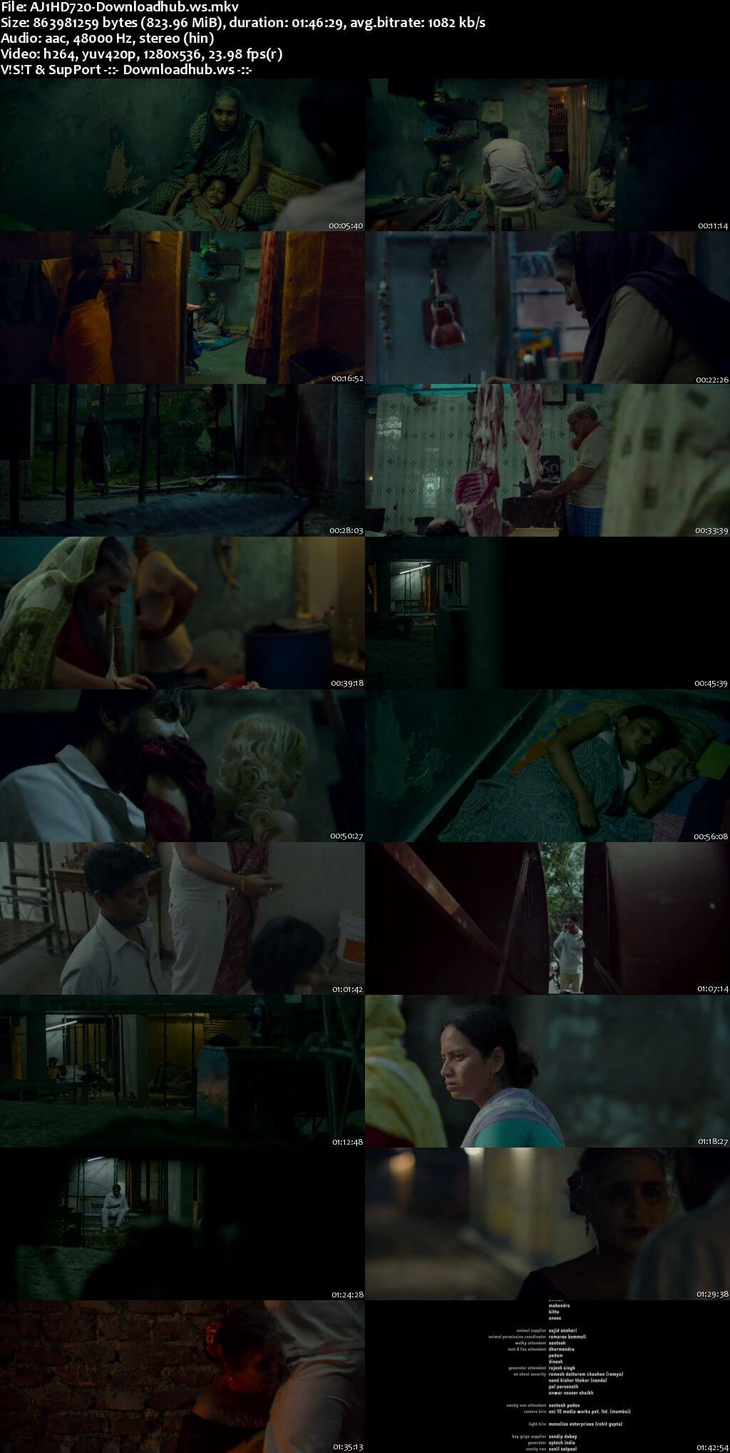 Ajji 2017 Hindi 720p HDRip ESubs