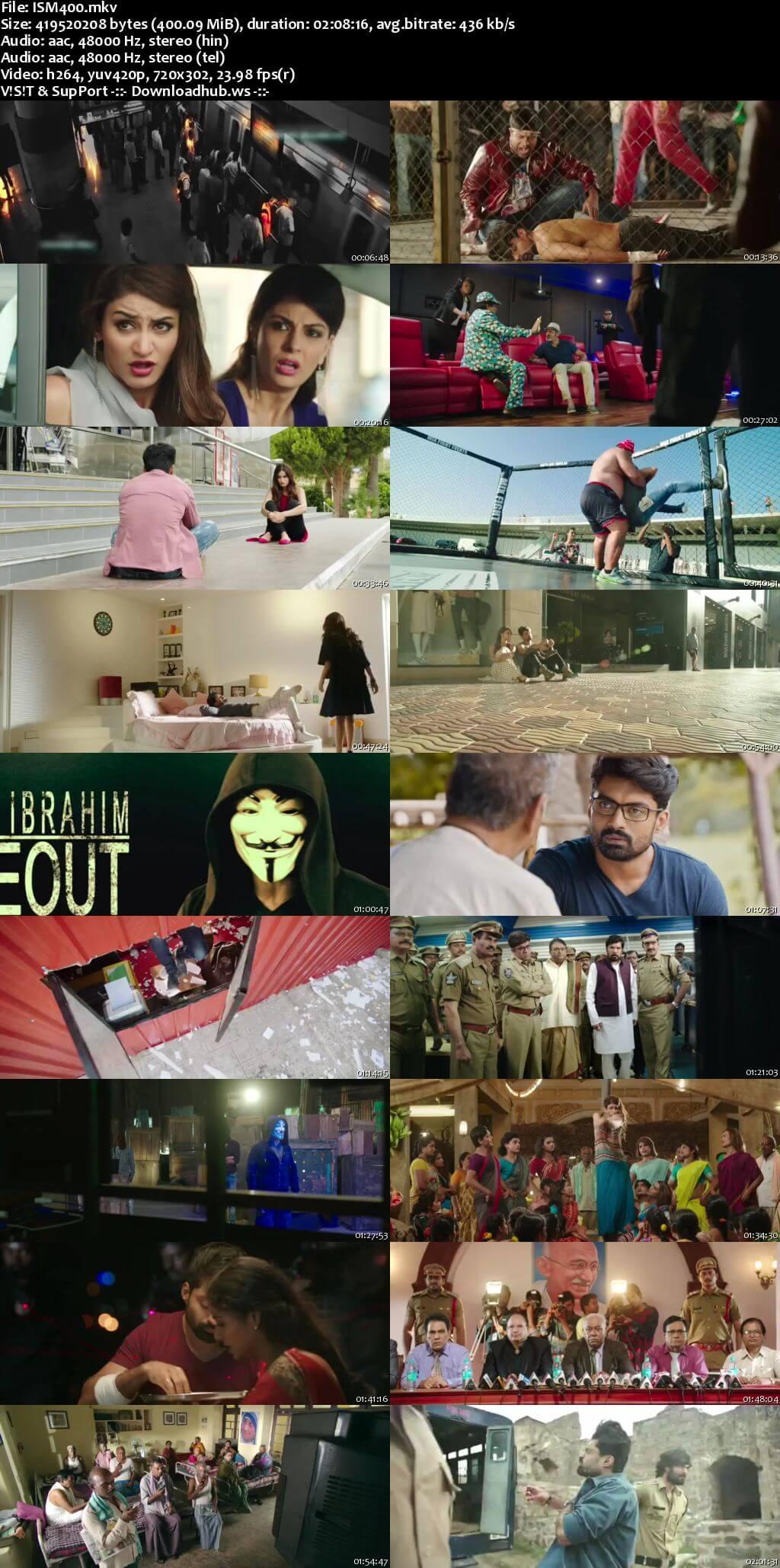 ISM 2016 UNCUT Hindi Dual Audio 480p HDRip Free Download